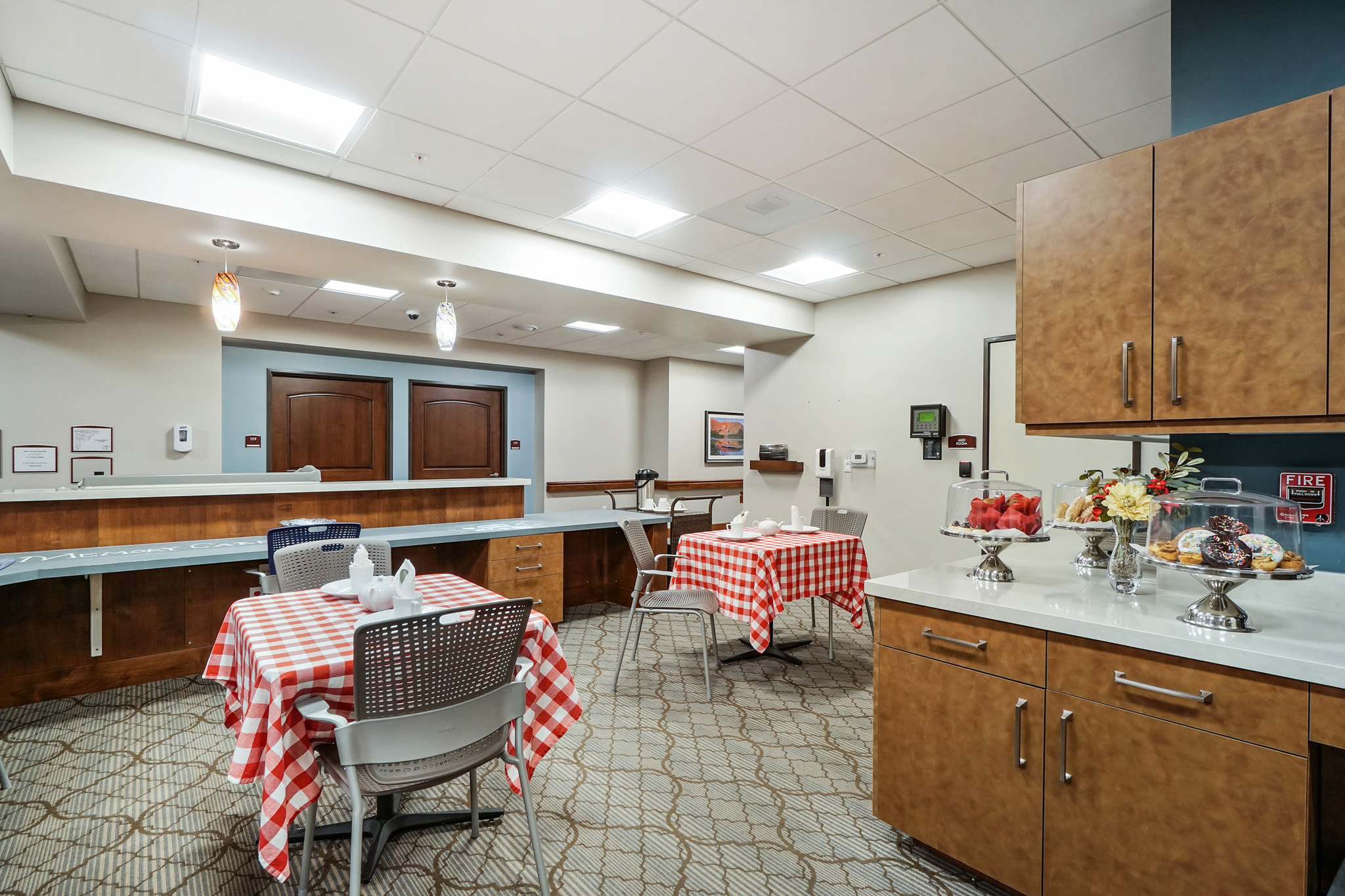 Cafe at Western Slope Memory Care in Grand Junction in Colorado