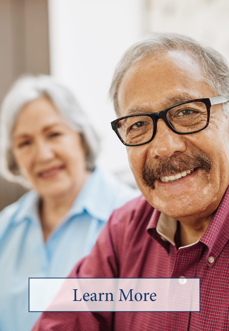 Click to learn more about memory care at The Claiborne at Brickyard Crossing