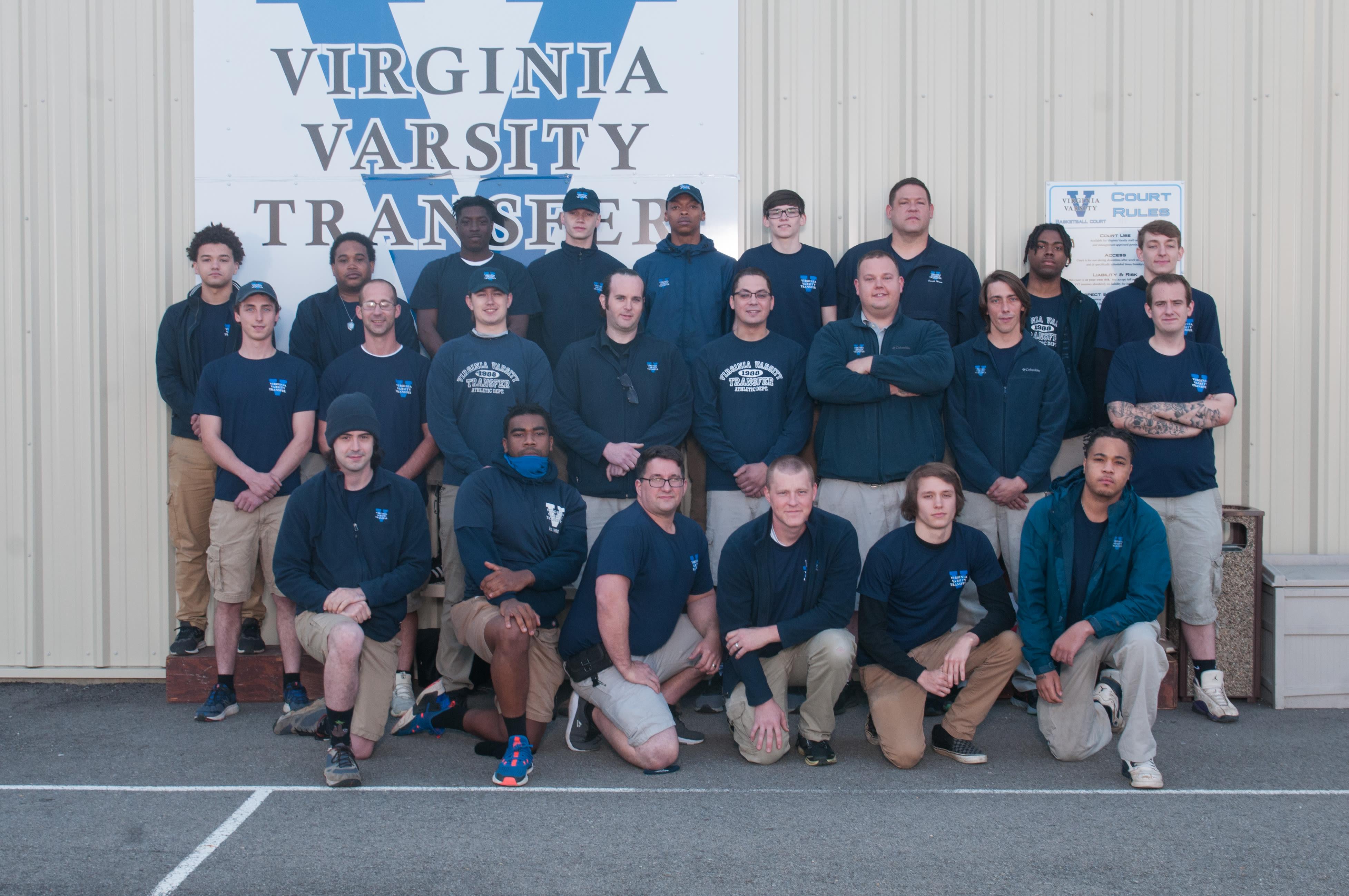 Self storage team at Virginia Varsity Transfer & Storage in Salem, Virginia