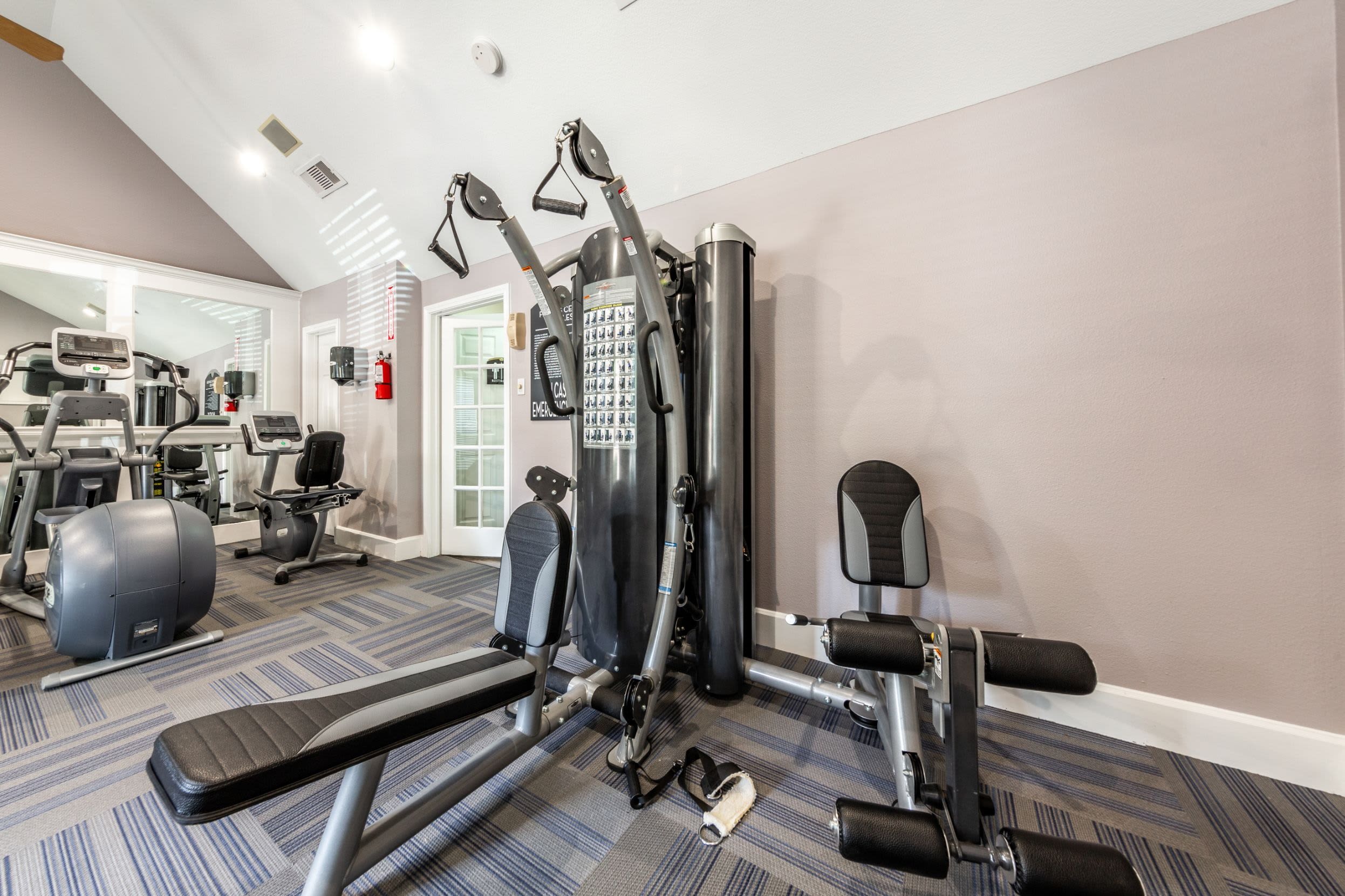Fitness center at Marquis on Memorial in Houston, Texas