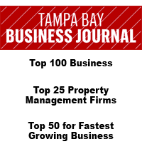 Tampa Bay Business Journal award given to WRH Realty Services, Inc