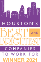 Houston best and brightest companies to work for at WRH Realty Services, Inc