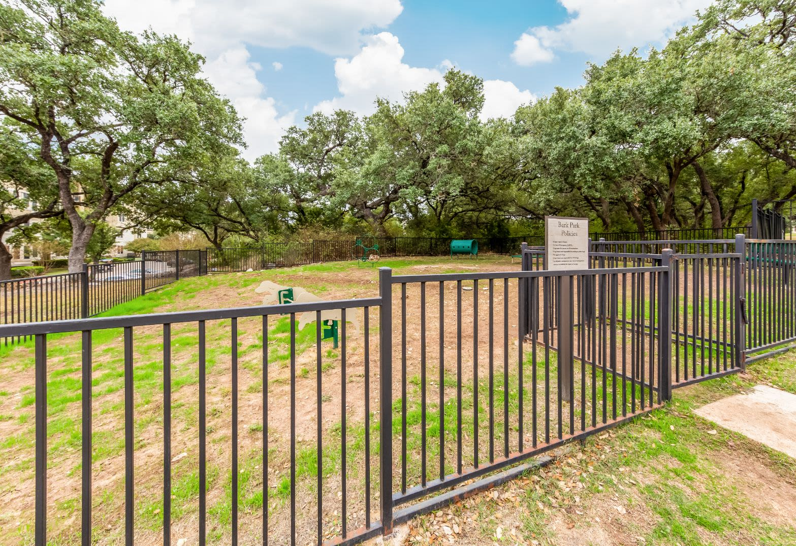 Spacious park at Marquis at TPC in San Antonio, Texas