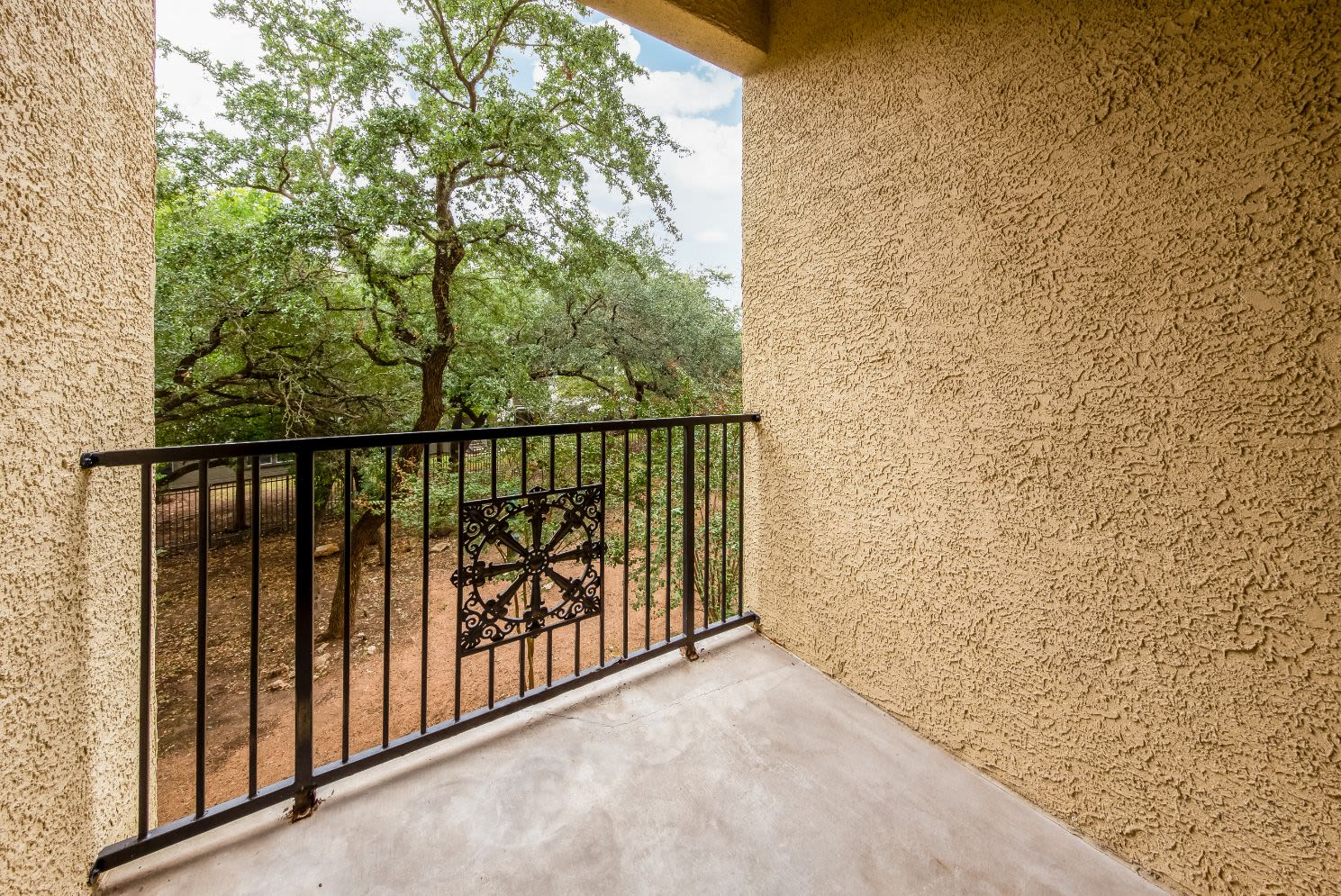 Private balcony at Marquis at TPC in San Antonio, Texas
