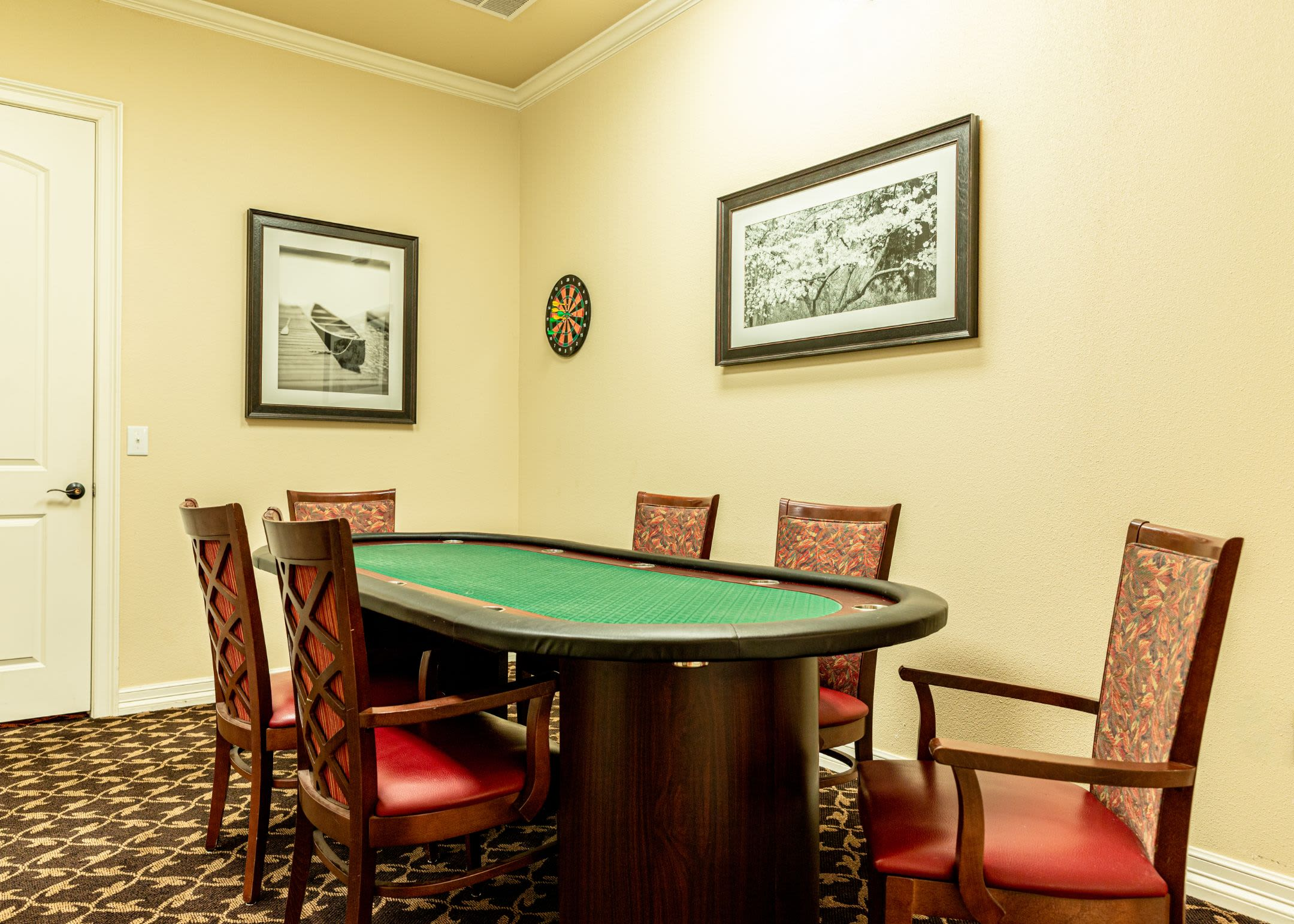 Poker table at Marquis Rockwall in Rockwall, Texas
