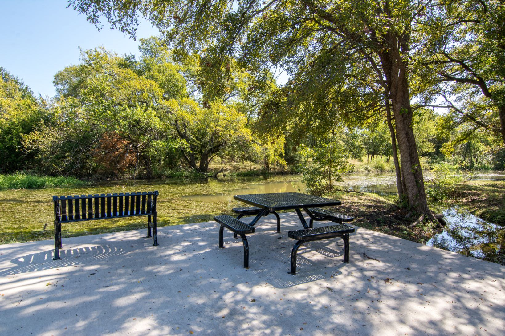 Community park at Marquis Rockwall in Rockwall, Texas