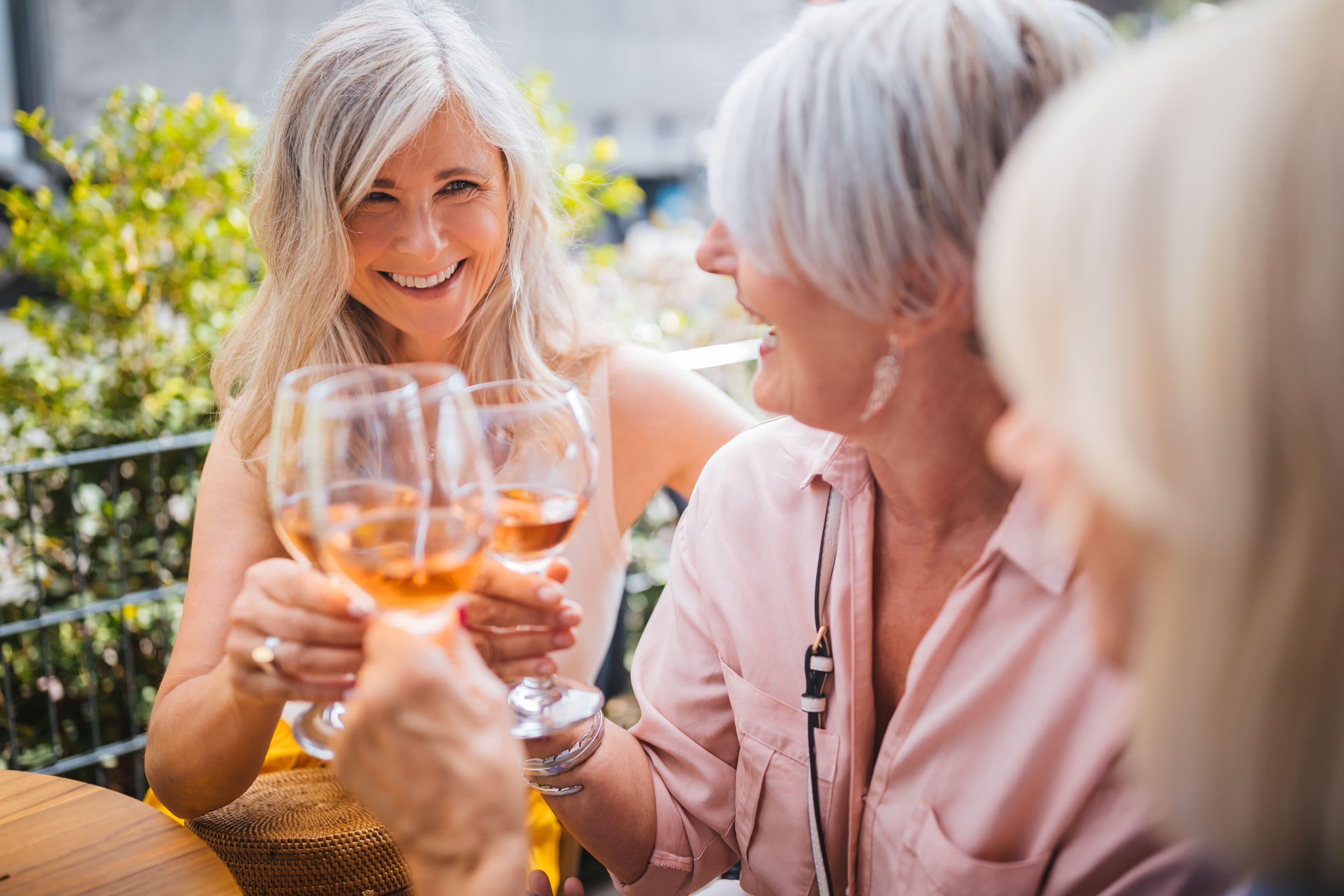 Residents enjoying a glass of wine near Rockwall, Texas from Marquis Rockwall