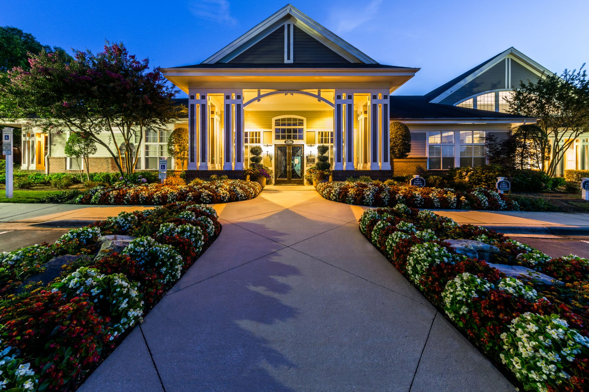 Exterior of The Preserve at Ballantyne Commons in Charlotte, North Carolina
