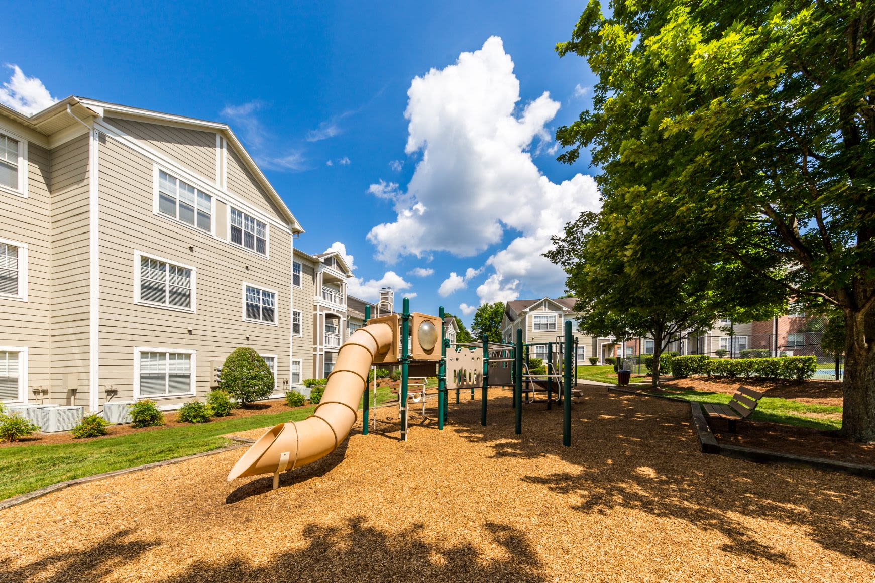 Playground at The Preserve at Ballantyne Commons in Charlotte, North Carolina