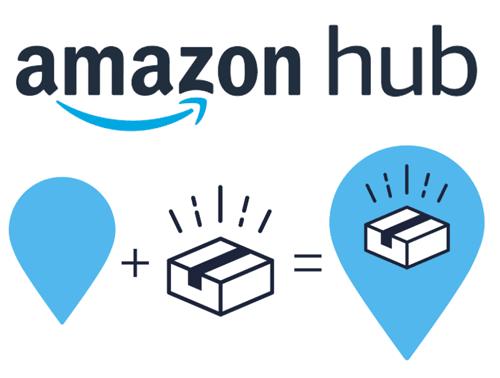 Amazon Hub logo