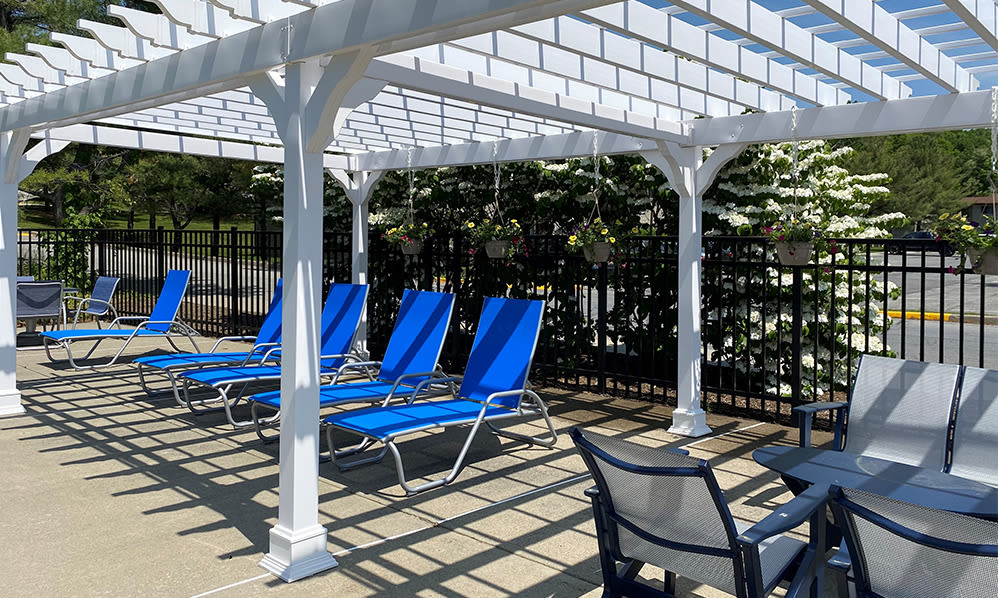 Sundeck at Imperial Gardens Apartment Homes in Middletown, NY