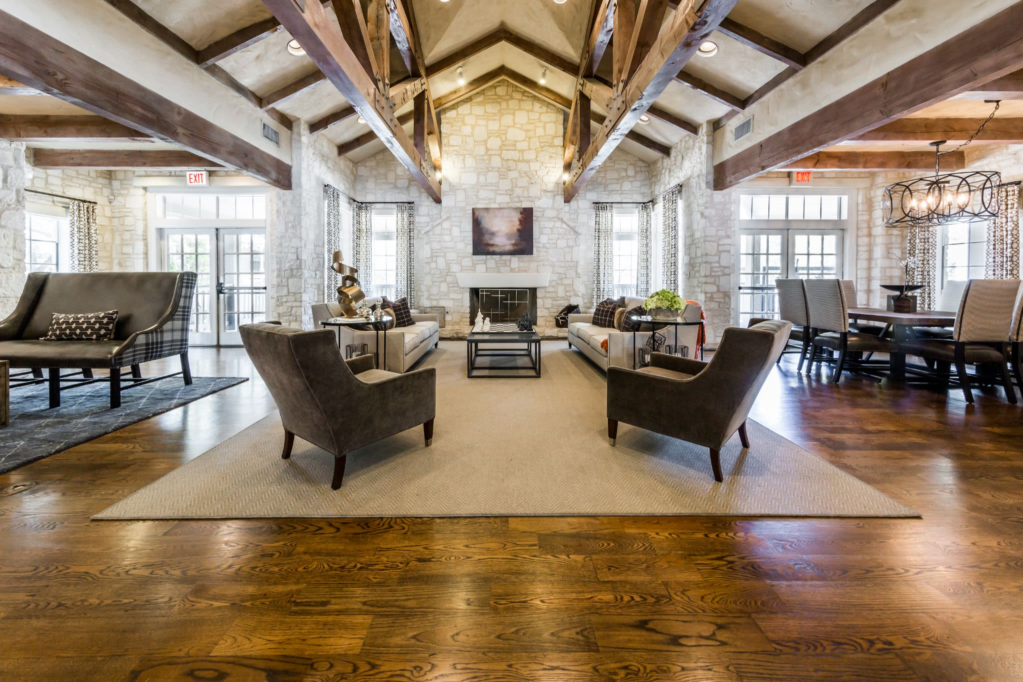 Clubhouse at Marquis at Deerfield in San Antonio, Texas