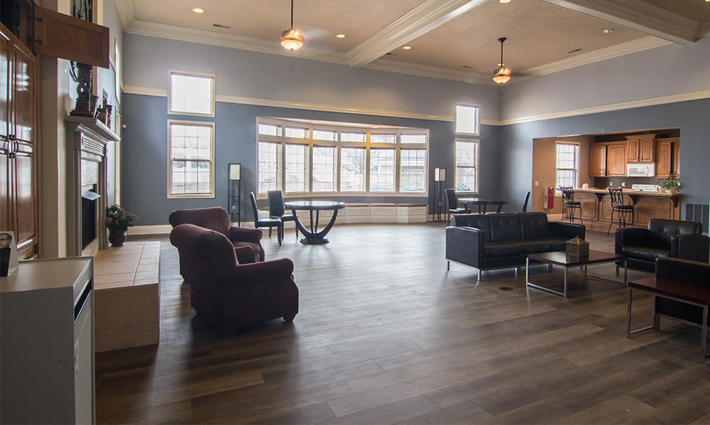 Clubhouse at Avalon at Northbrook Apartments & Townhomes in Fort Wayne, Indiana