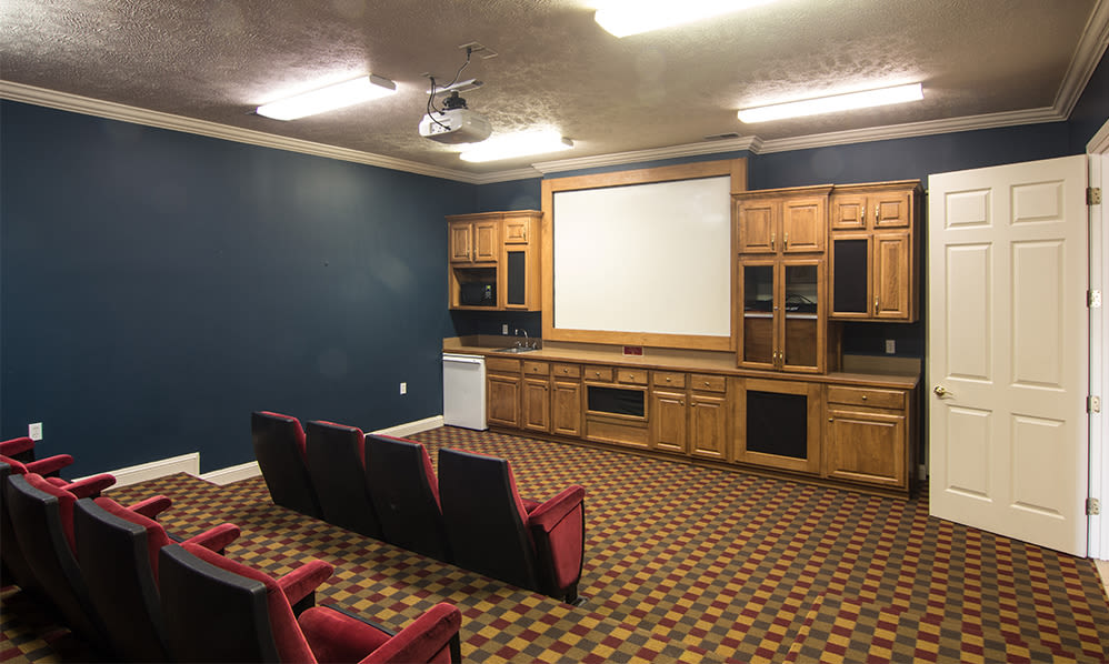 Theater at Avalon at Northbrook Apartments & Townhomes in Fort Wayne, Indiana