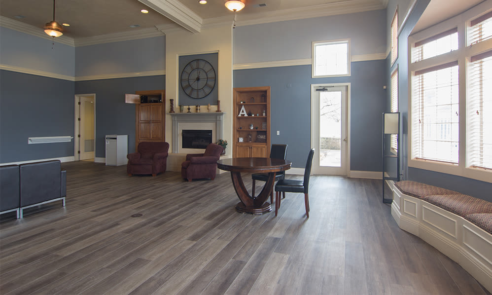 Relaxing clubhouse at Avalon at Northbrook Apartments & Townhomes in Fort Wayne, Indiana