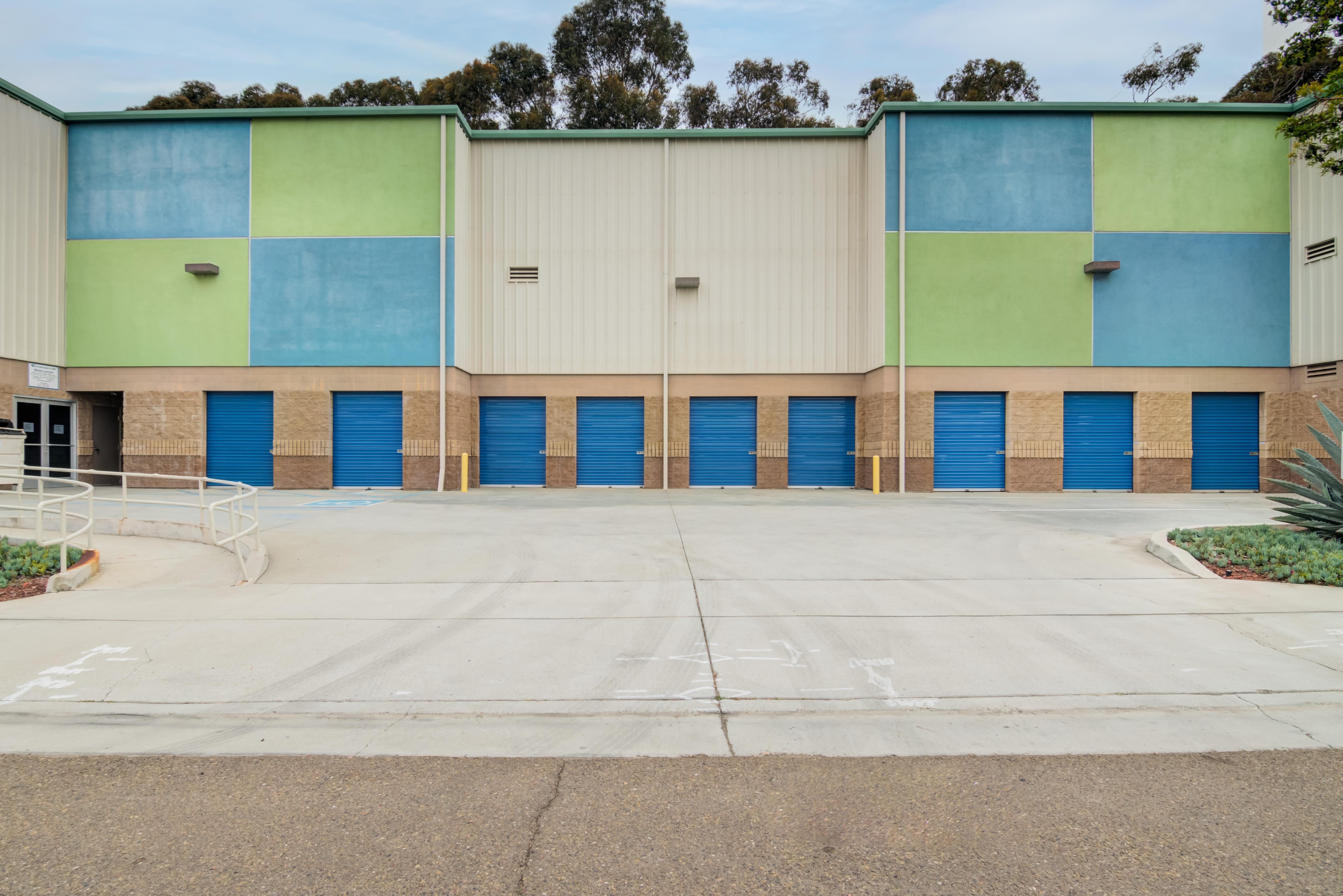 Drive up storage at Storage Etc... Hancock St in San Diego,CA