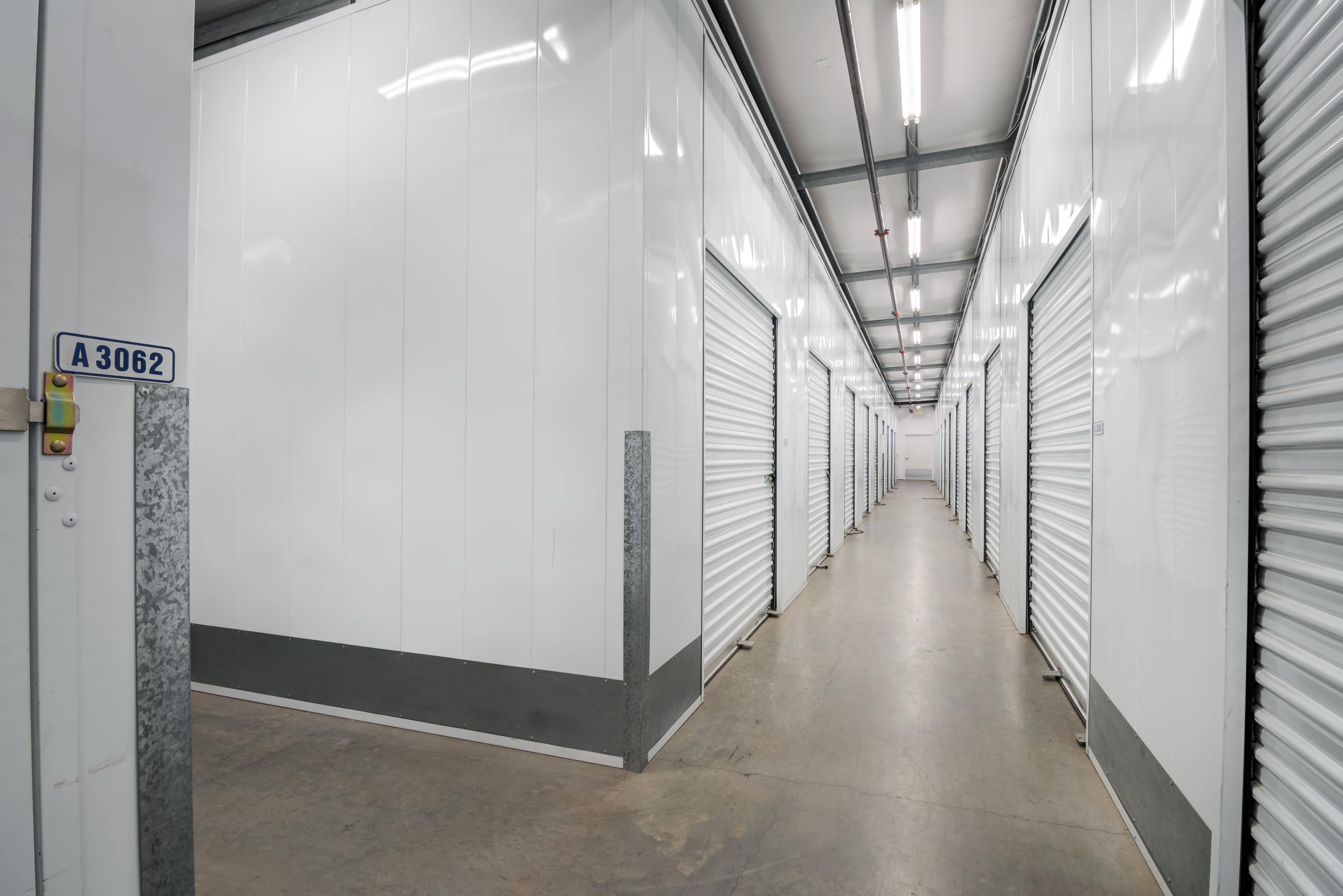 Indoor storage at Storage Etc... Hancock St in San Diego,CA