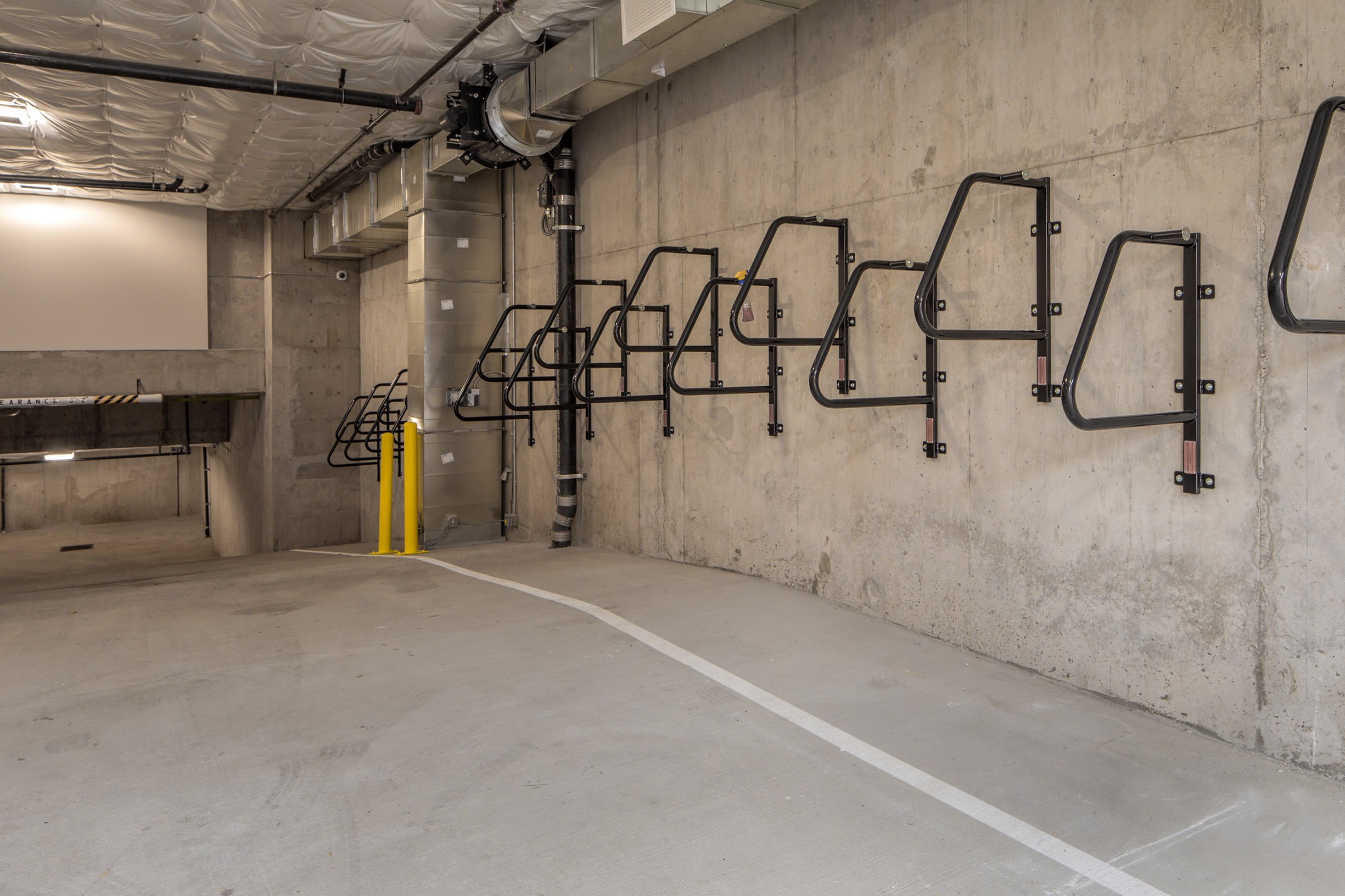 Another bike rack at Ascend in Portland, OR