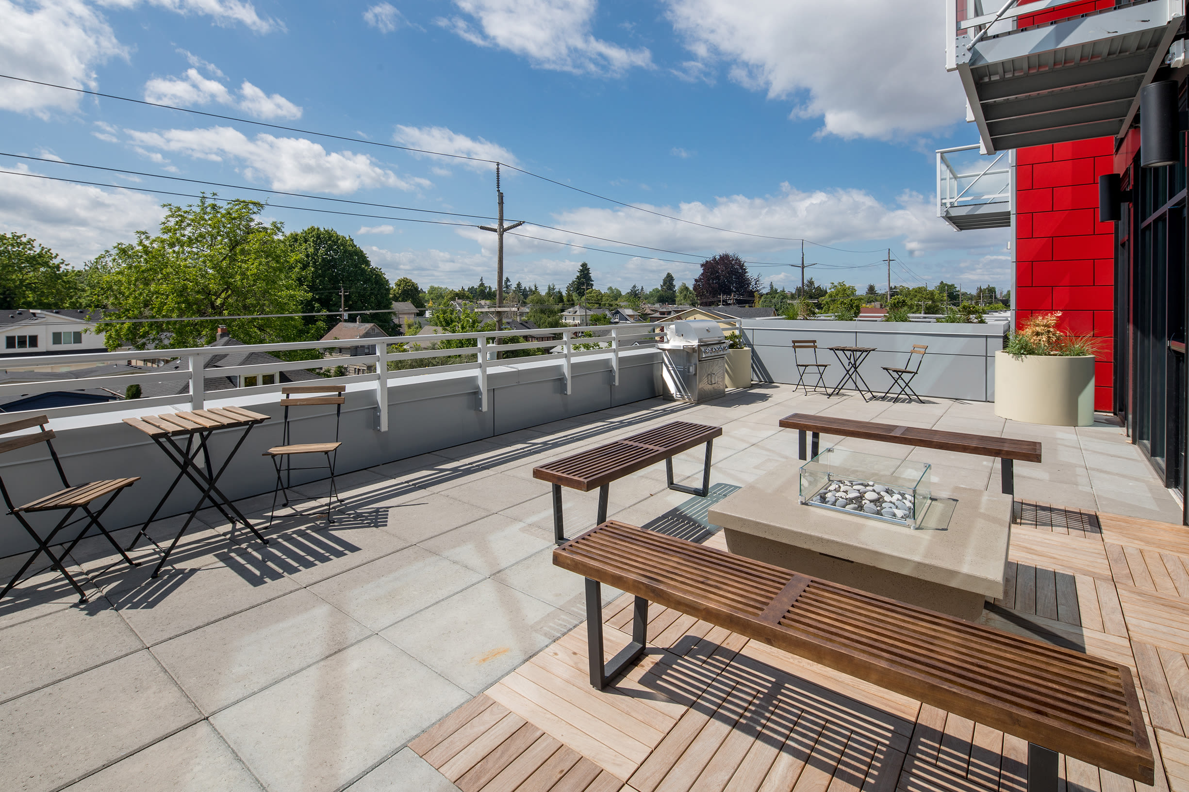 More outdoor seating at Ascend in Portland, OR