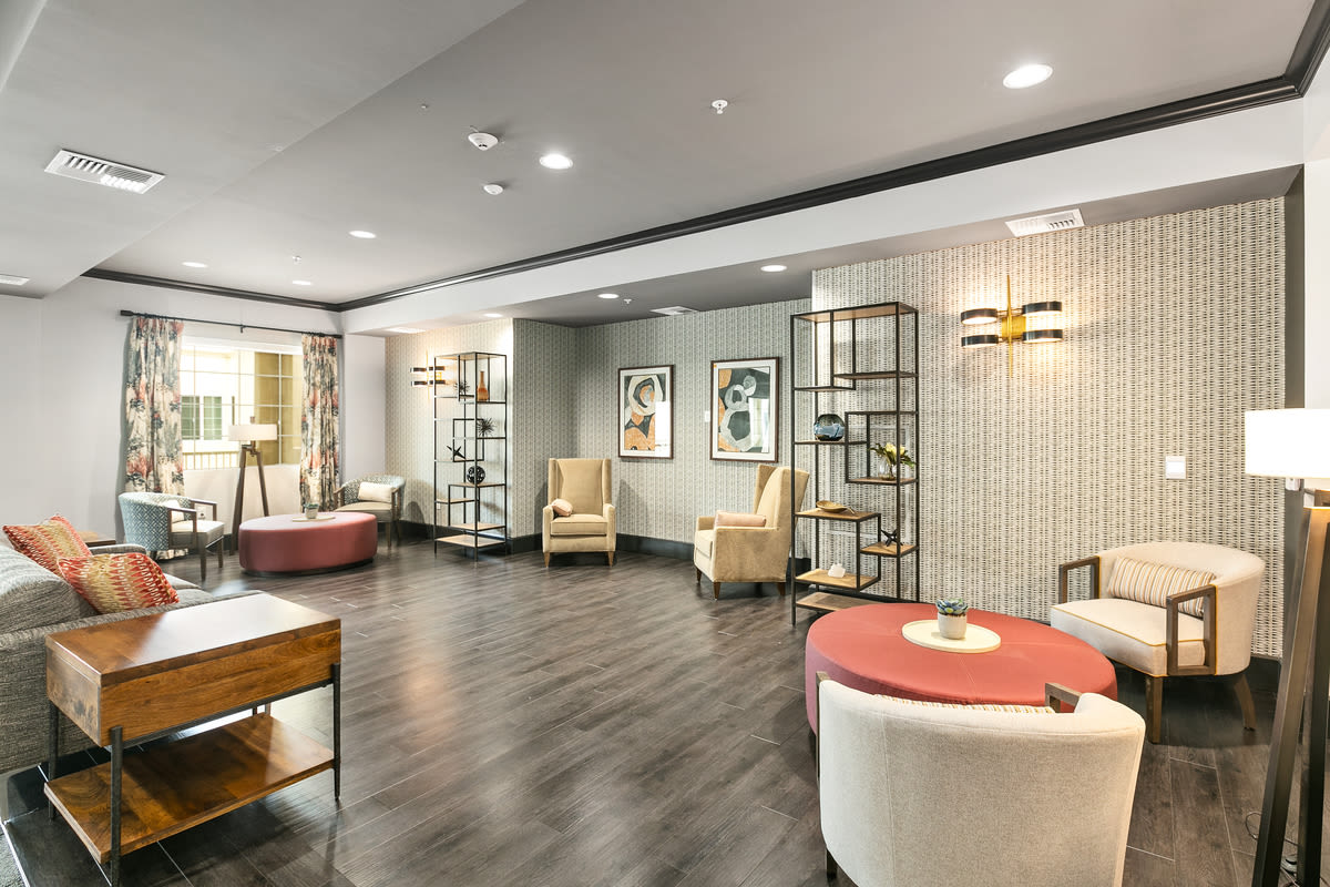 Have a seat at Estancia Senior Living in Fallbrook, California