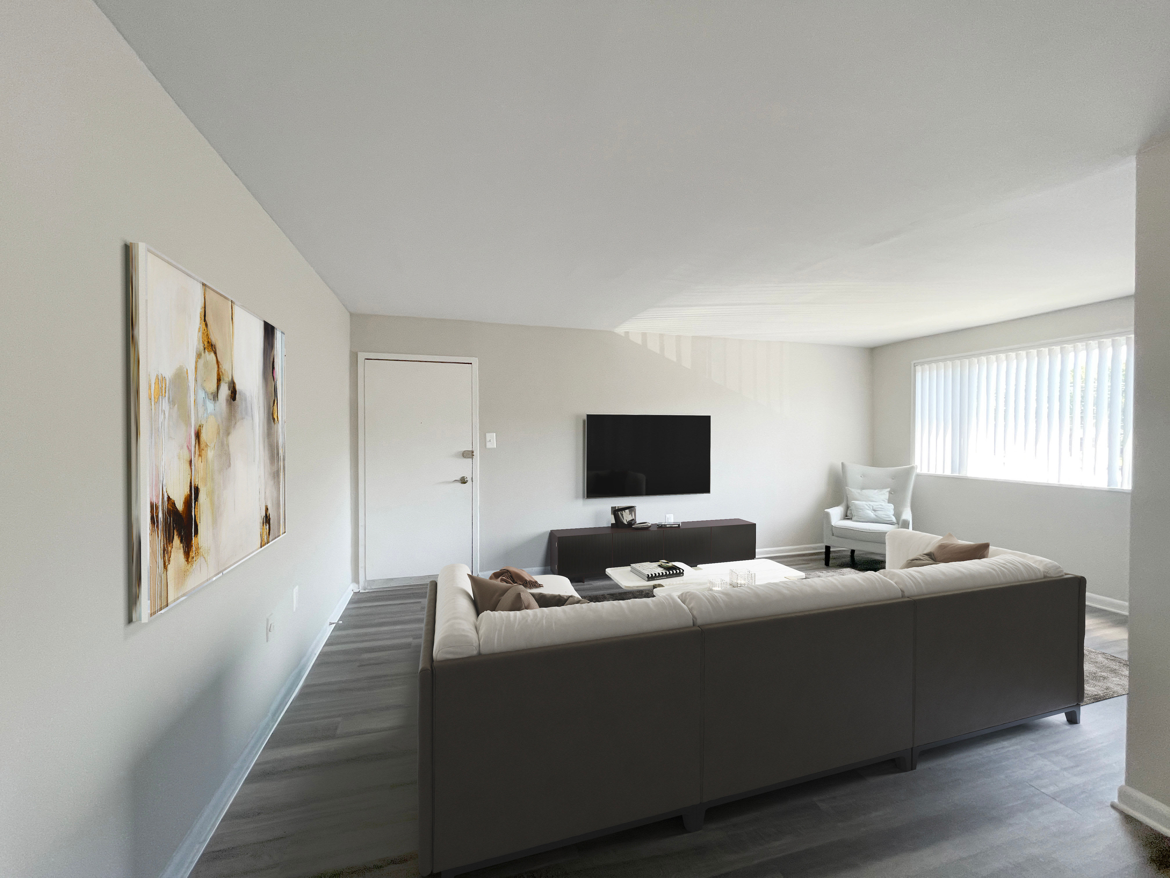 Living room and furniture in Regency Pointe