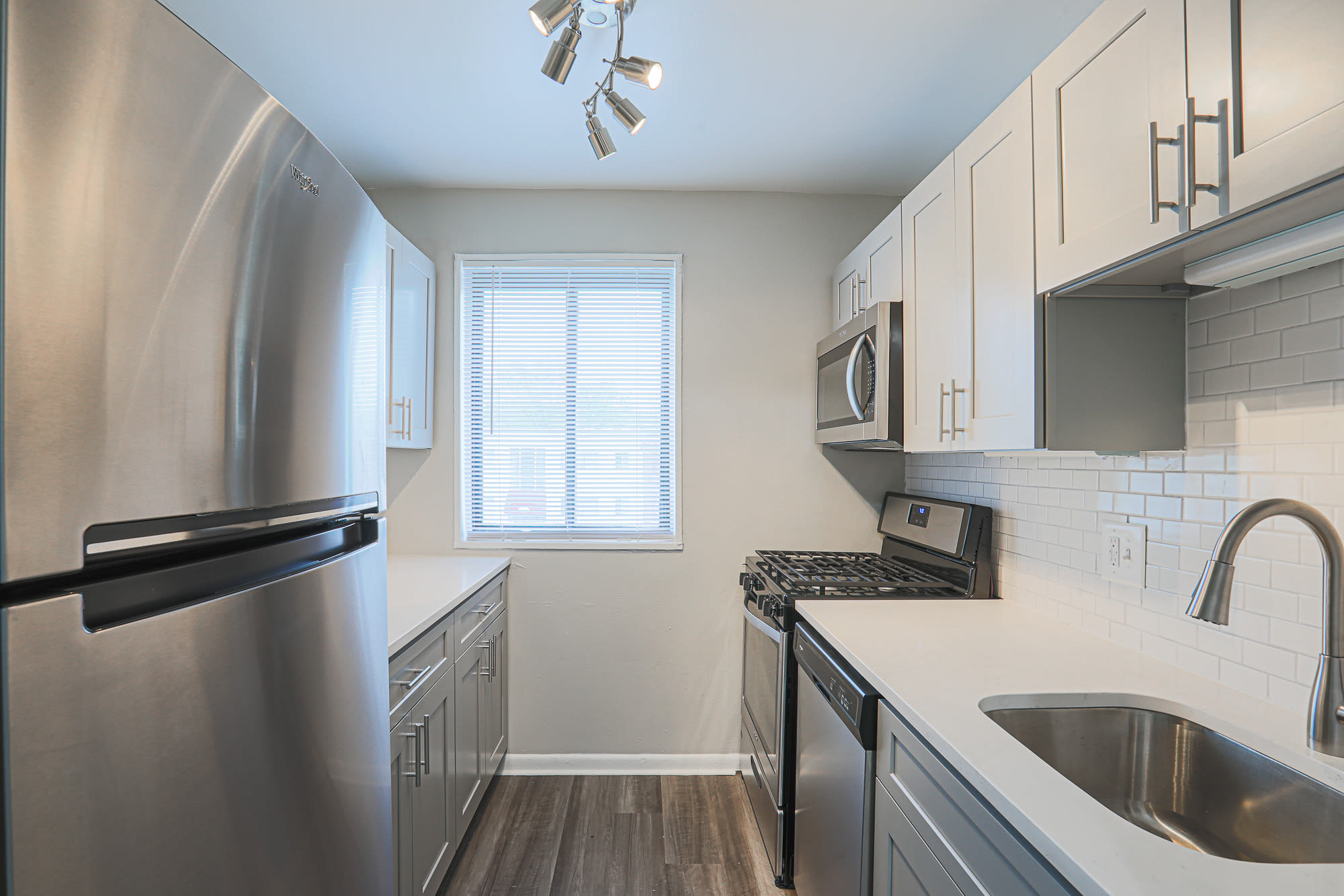 Kitchen side shot in Regency Pointe