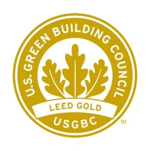 Leed Gold Award for RISE at Riverfront Crossings