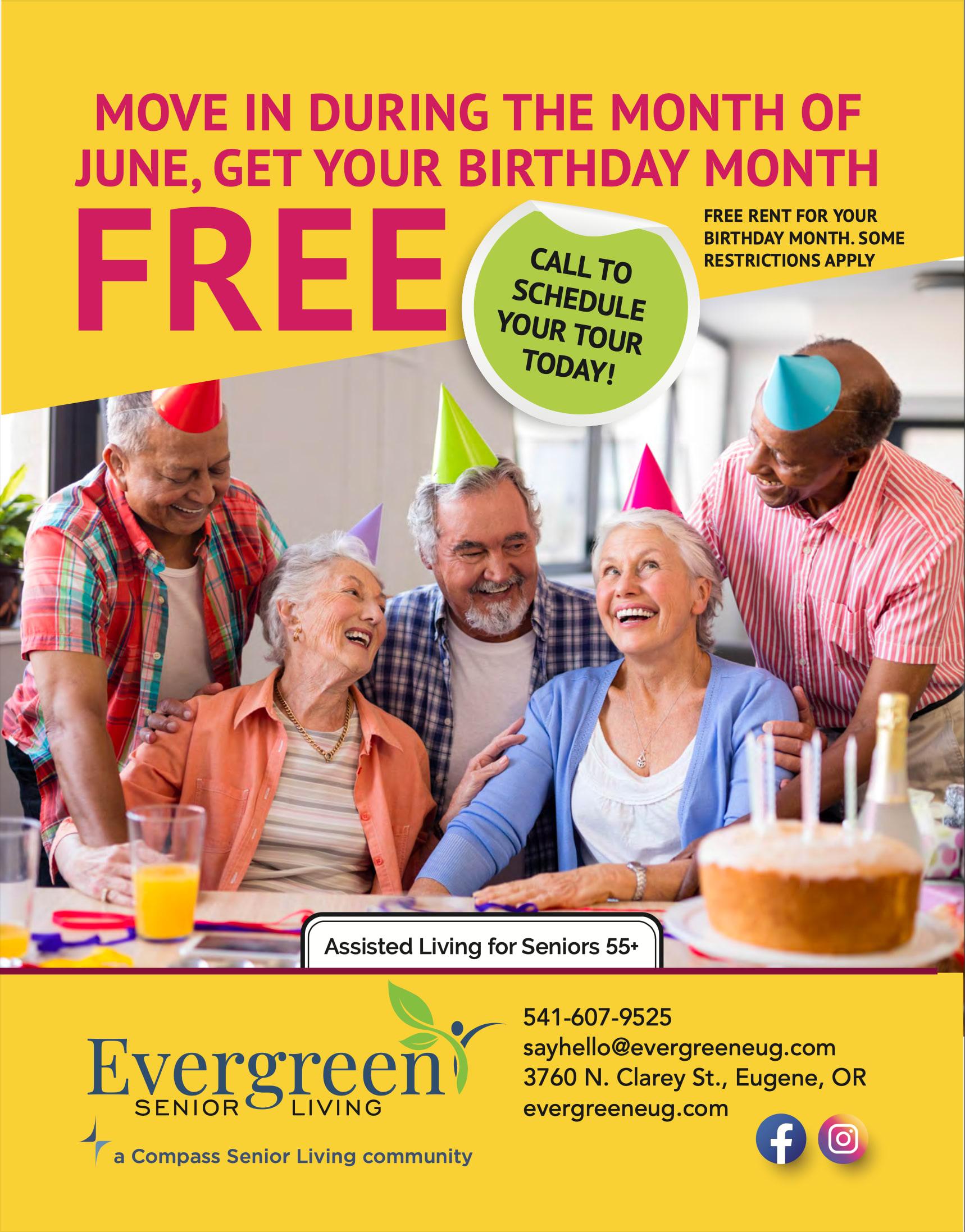June Flyer - Birthday Special
