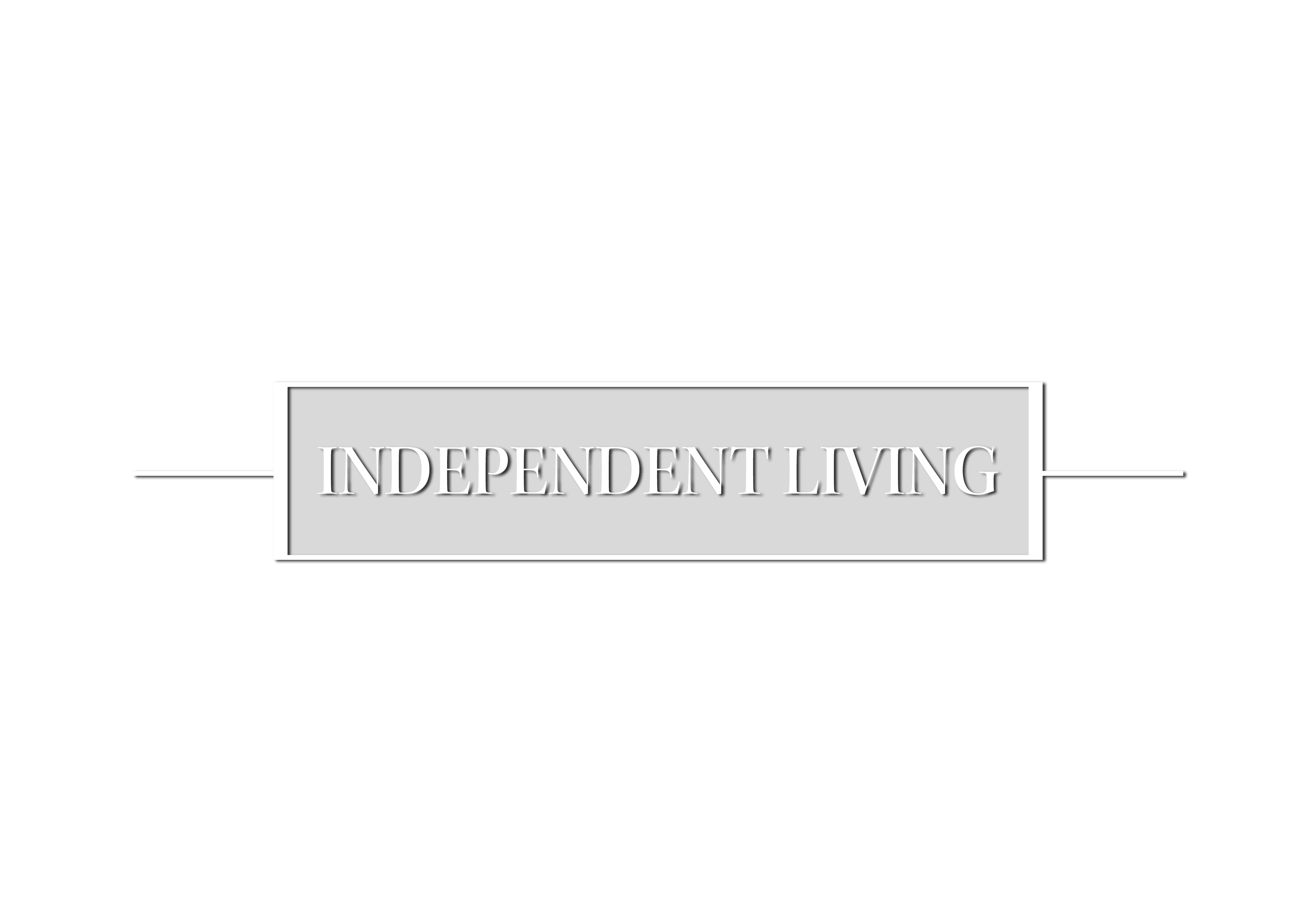 independent living graphic