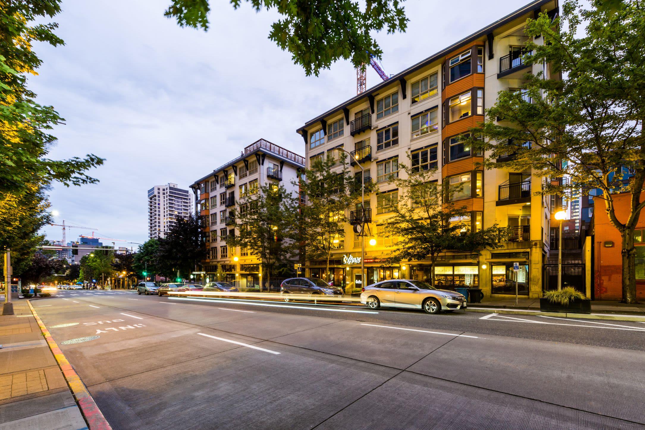 Exterior of Marq 211 in Seattle, Washington