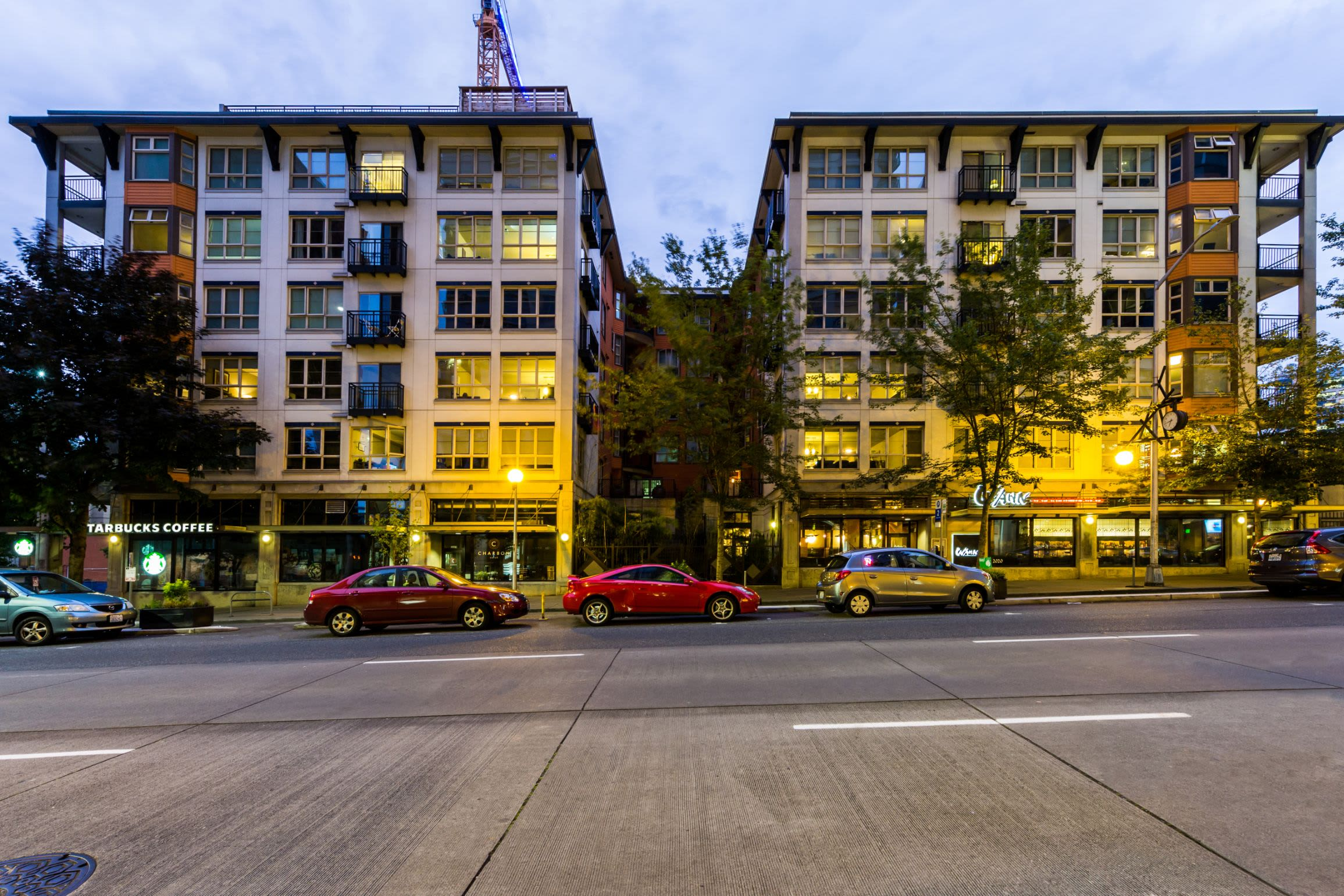Street view at Marq 211 in Seattle, Washington