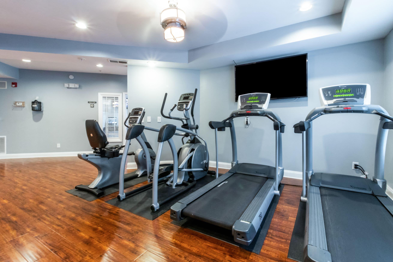 Cardio machines in fitness center at Marquis Midtown West in Atlanta, Georgia