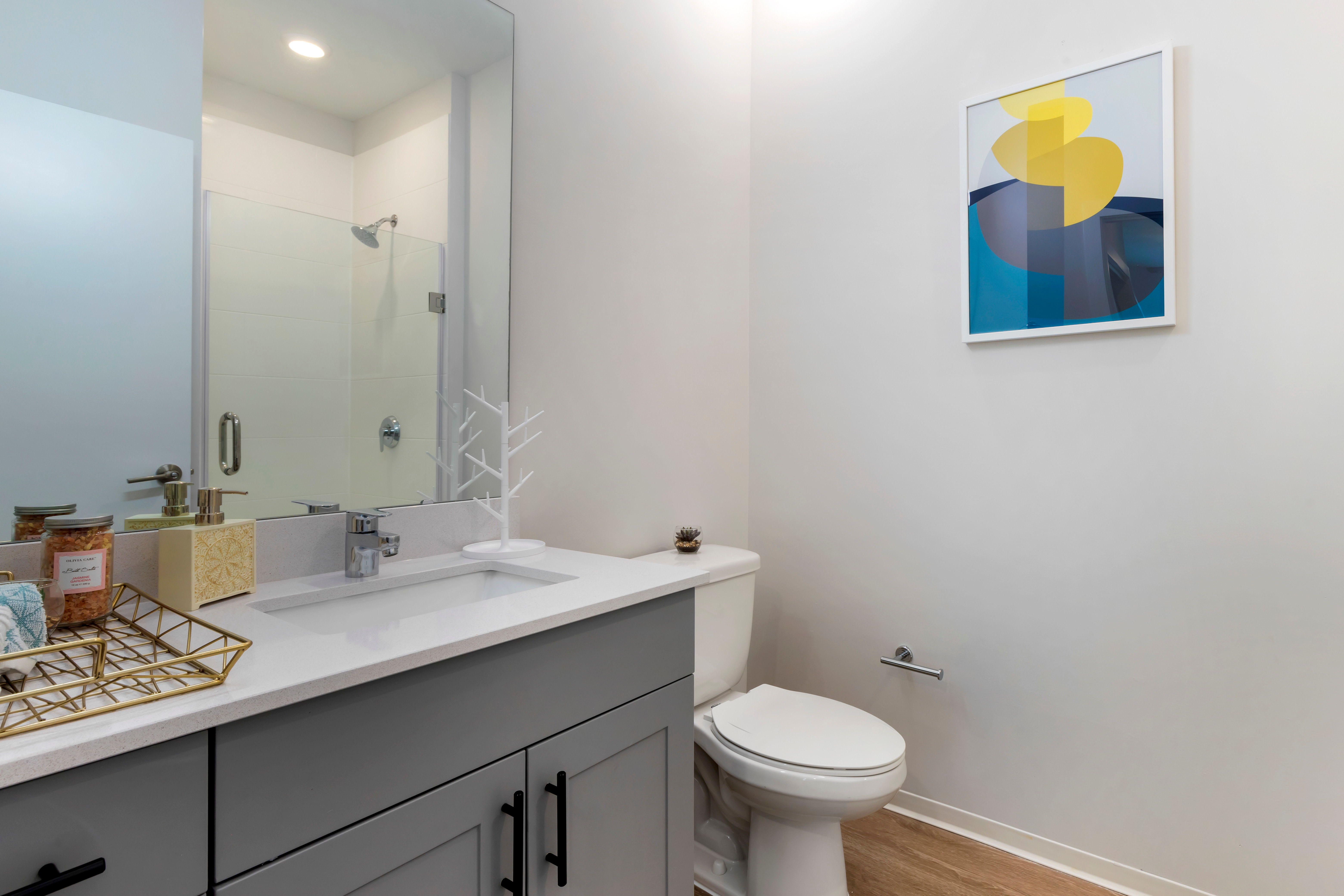 Clean bathroom at UNCOMMON Raleigh in Raleigh, North Carolina