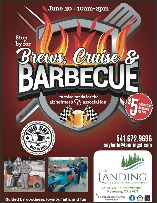 Brews, cruise and barbeques event on June 30th