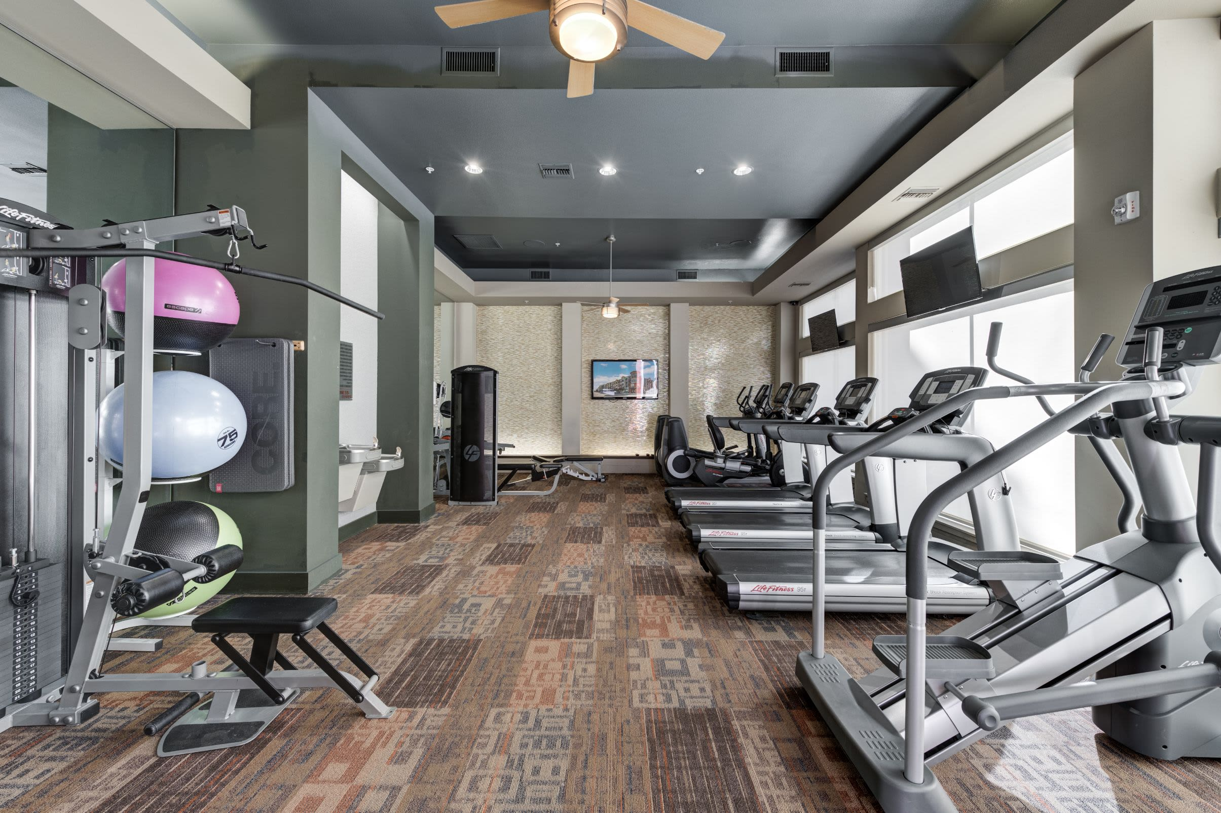 Workout facility at The Marq at Ridgegate in Lone Tree, Colorado