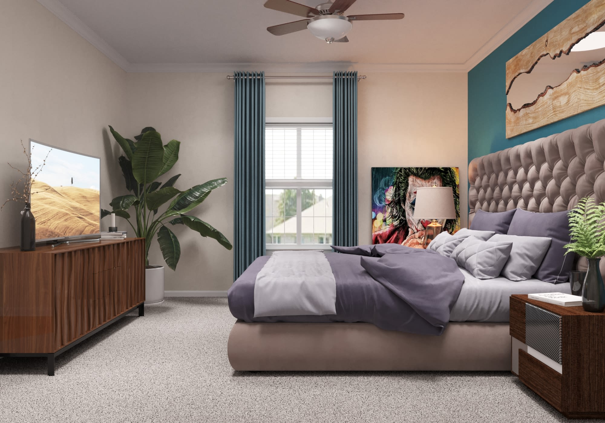 View virtual tour for a 2 bedroom 2 bathroom apartment at The View at Lakeside in Lewisville, Texas