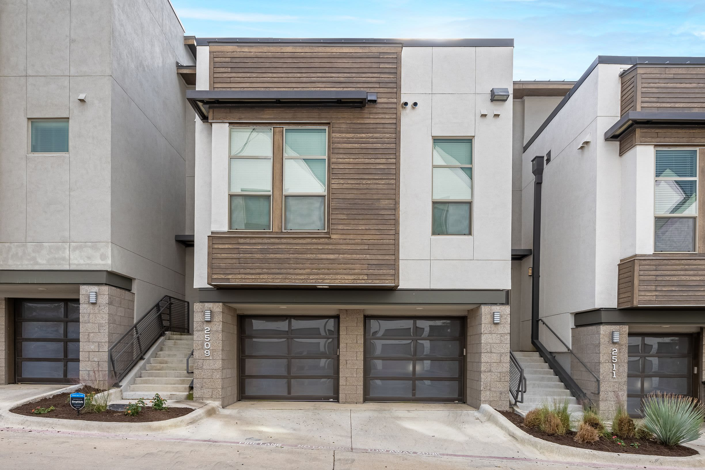 Exterior of one of the units at Westerly 360 in Austin, Texas
