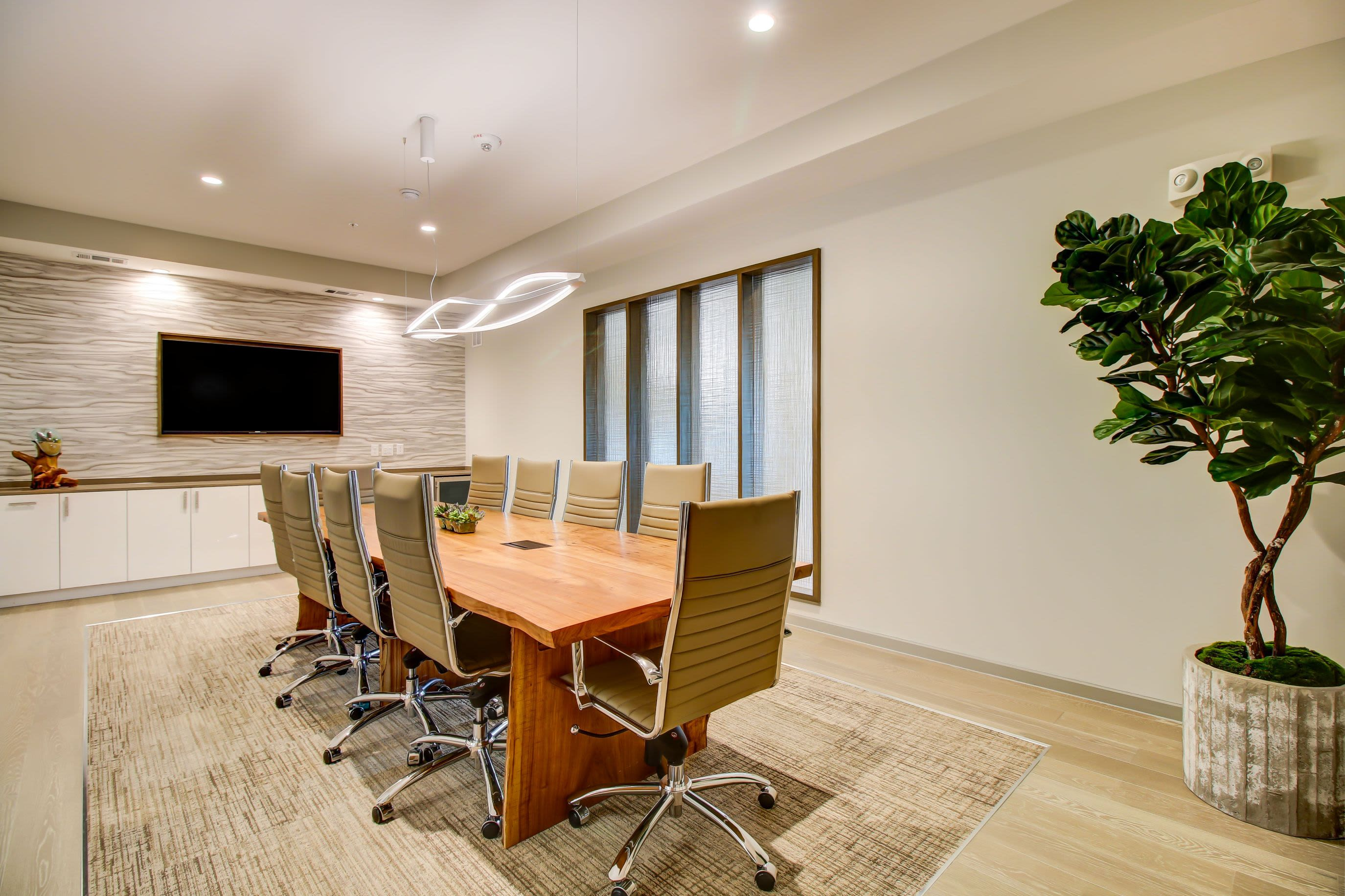 Large conference room at Westerly 360 in Austin, Texas