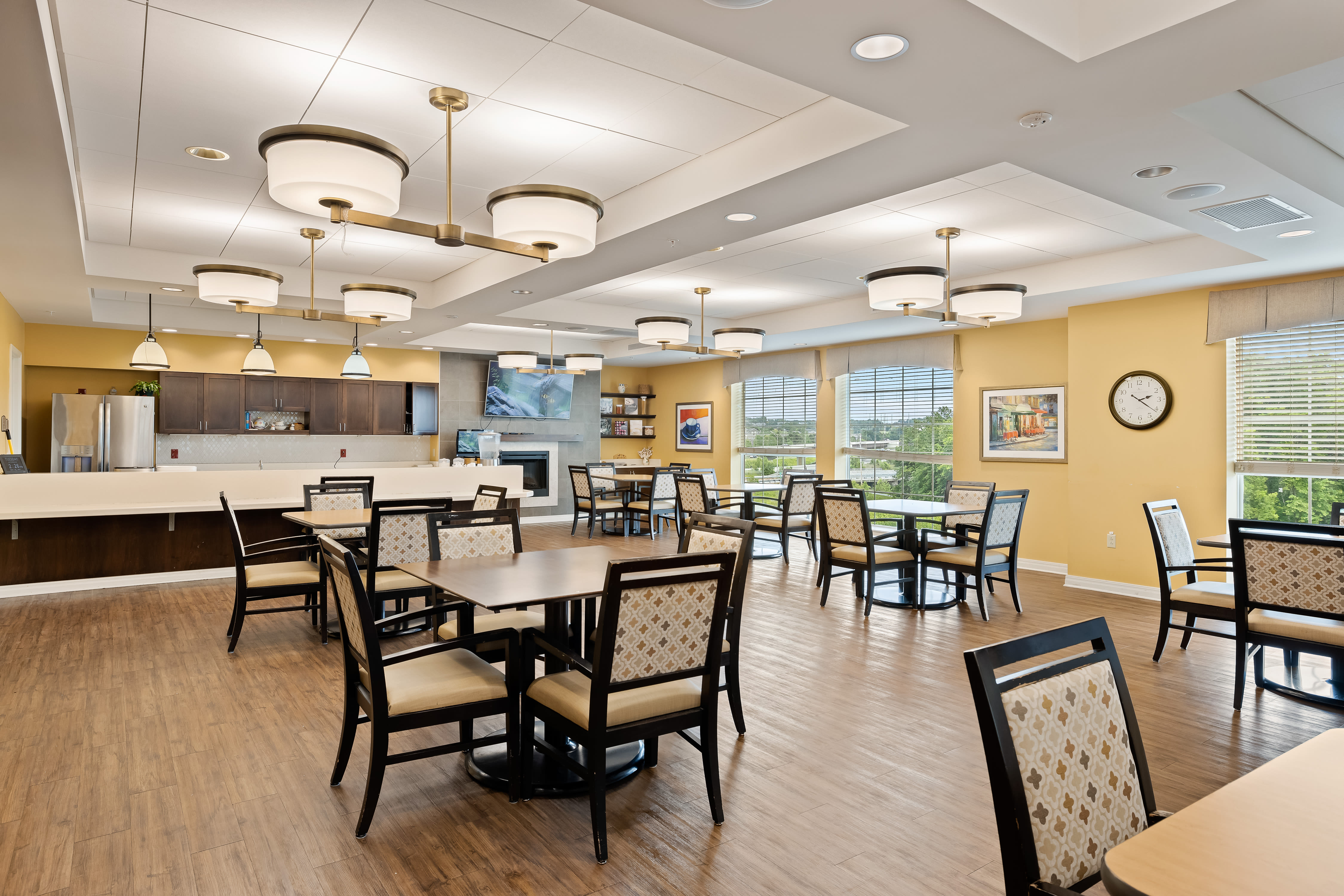 A memory care suite at Anthology of Overland Park in Overland Park, Kansas