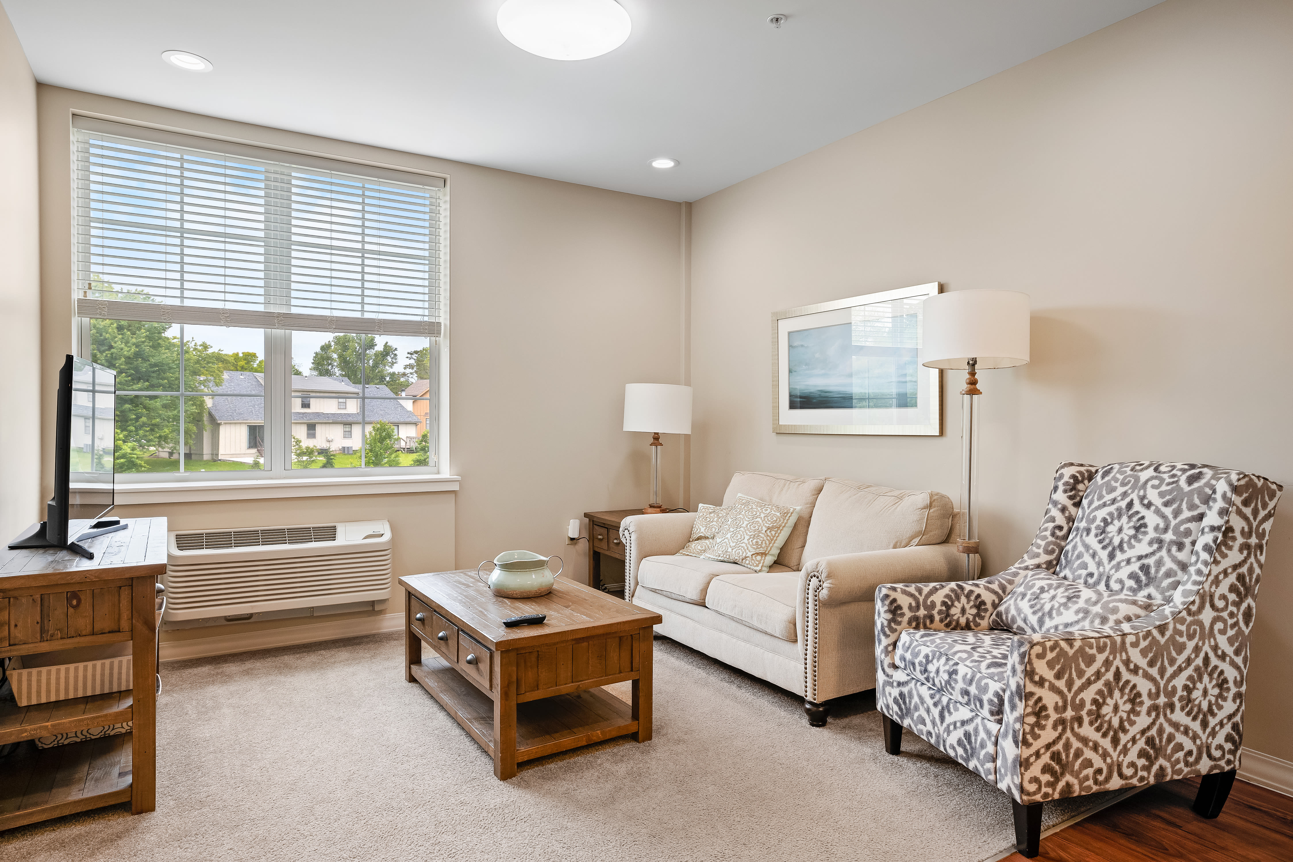 Spacious resident apartment at Anthology of Overland Park in Overland Park, Kansas.
