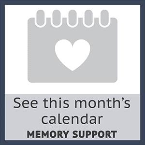 Monthly calendar for Sage Glendale Memory Care