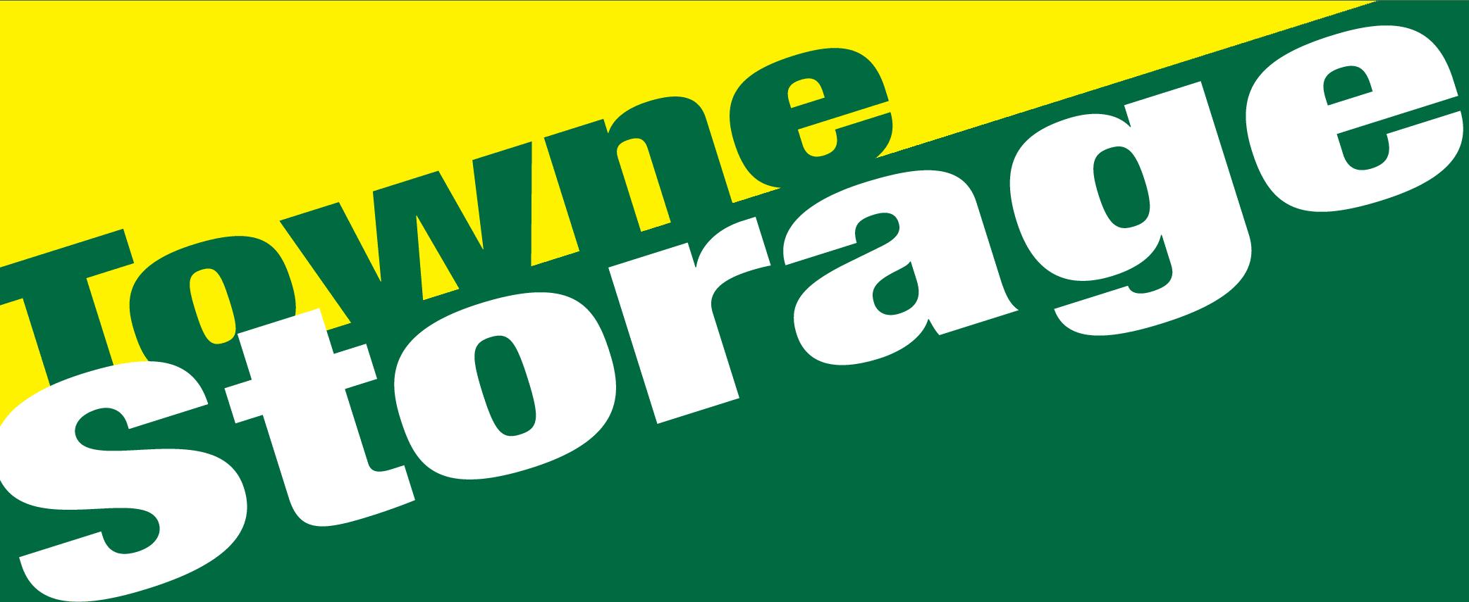 Towne Storage - Rainbow logo