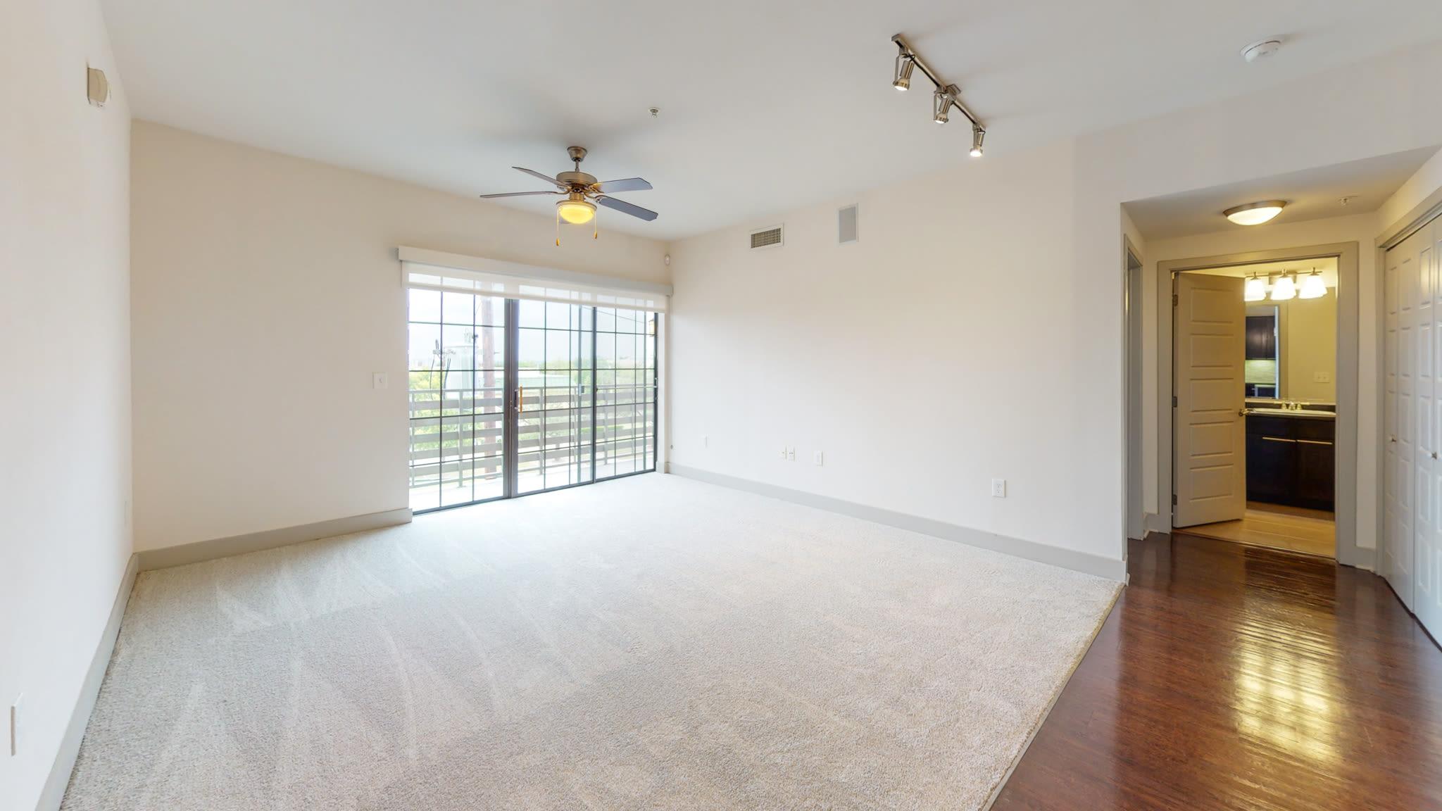 large living room at Bellrock Bishop Arts in Dallas, Texas