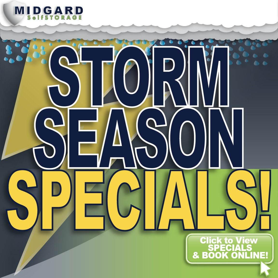 Special at Midgard Self Storage in Murfreesboro, Tennessee
