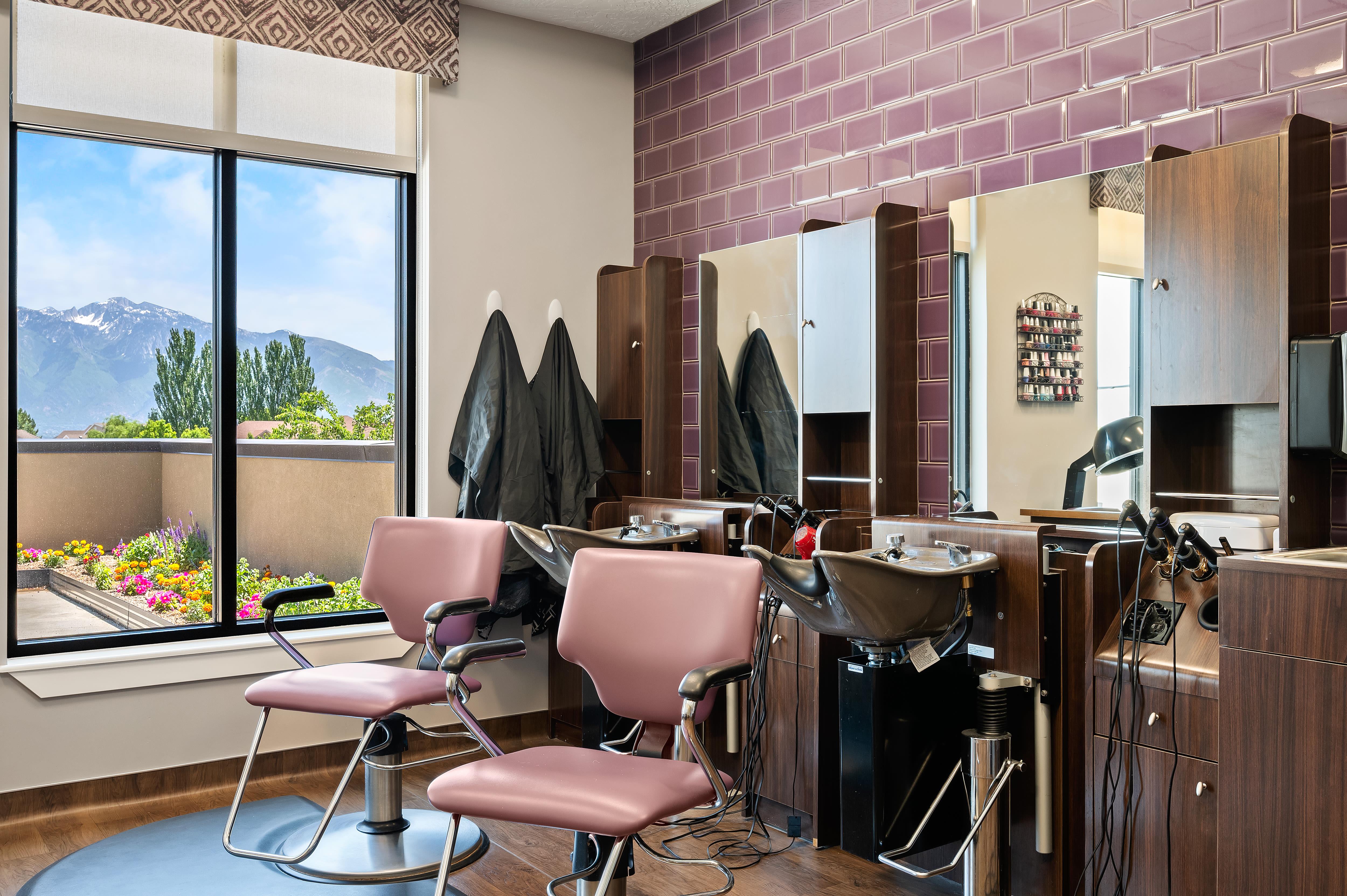 Salon/Barbershop at Anthology of South Jordan in South Jordan, Utah