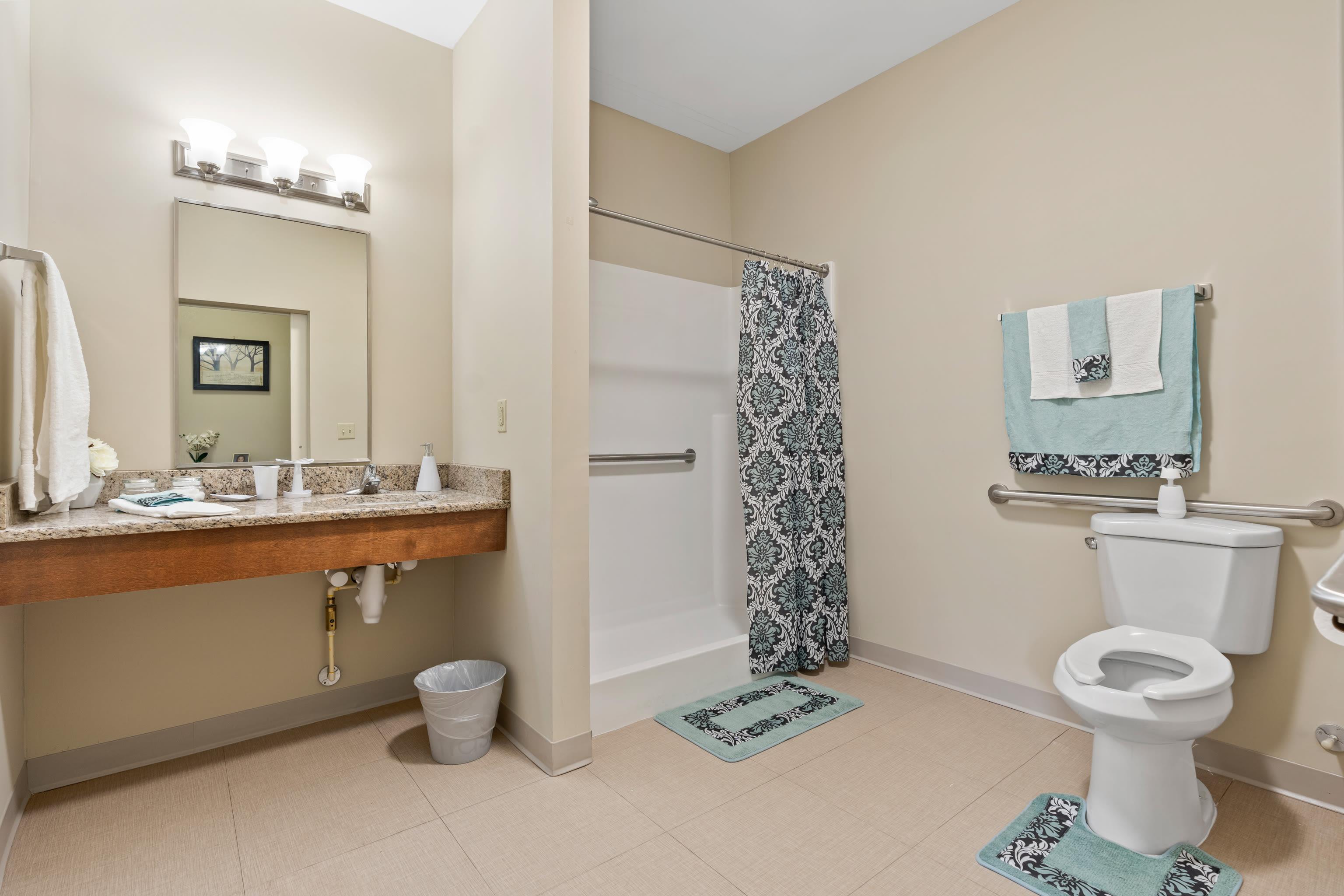 Bathroom at Gentry Park Orlando in Orlando, FL