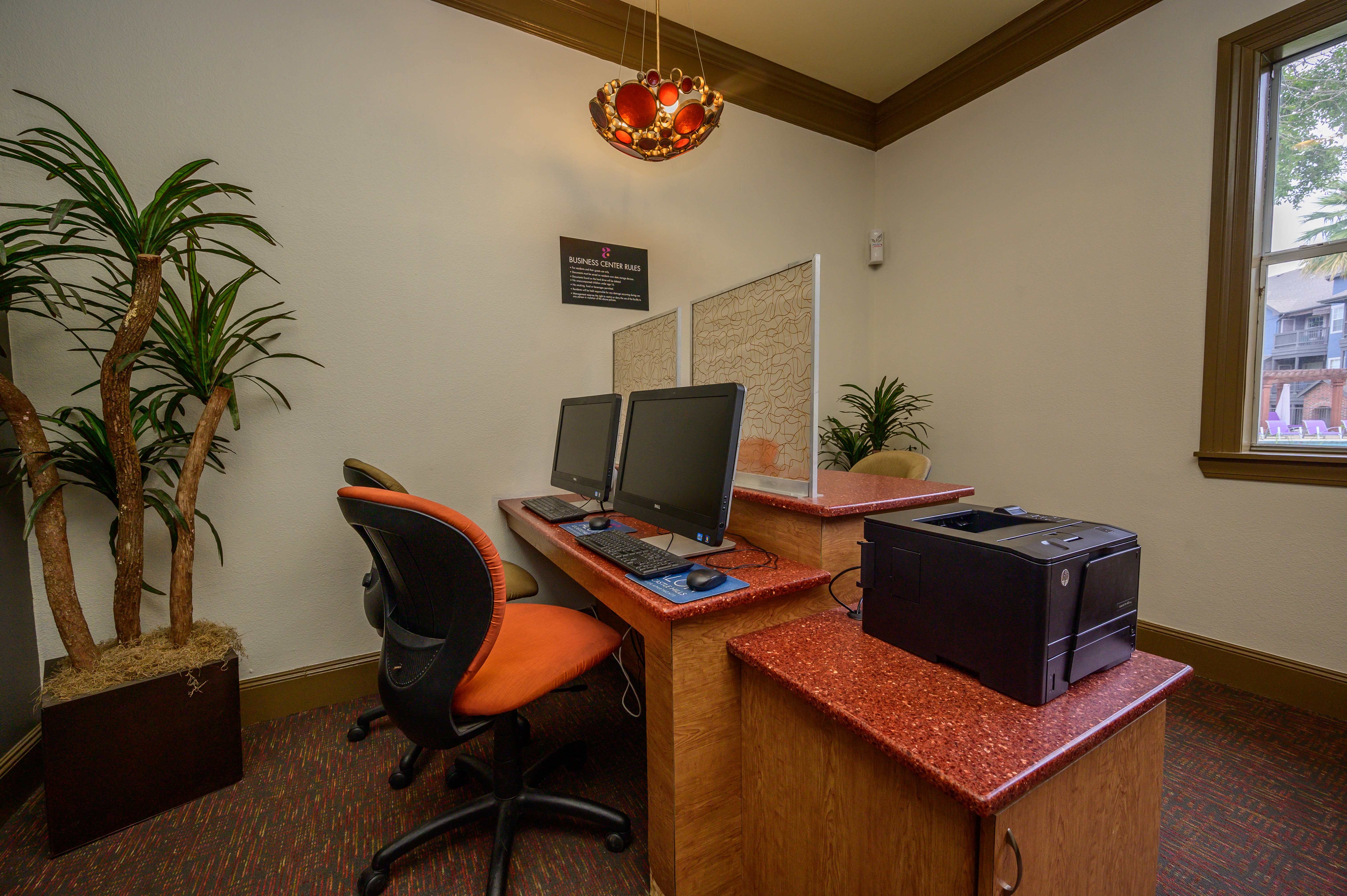 View virtual tour for the resident business center at Alon at Castle Hills in San Antonio, Texas