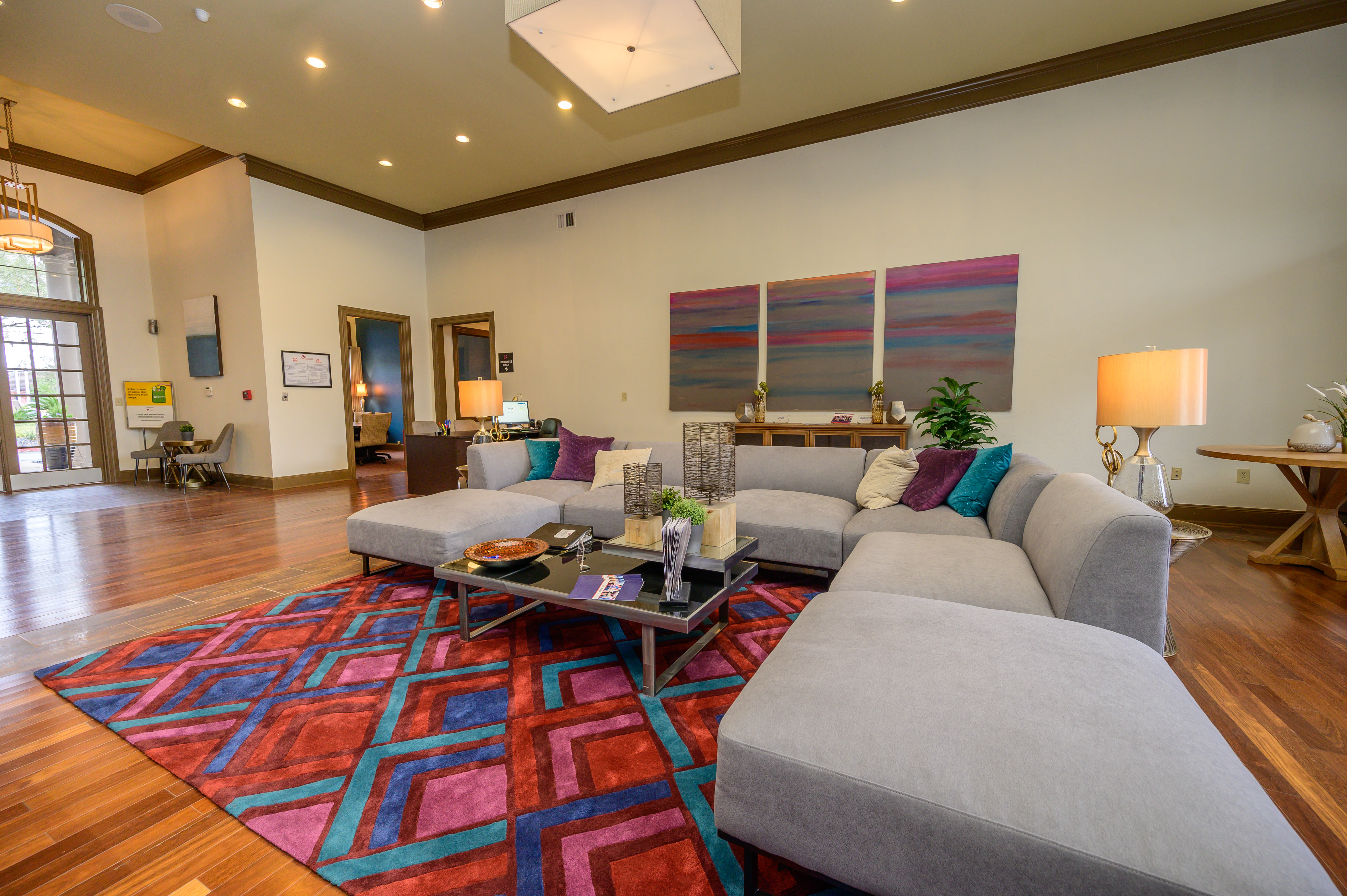 View virtual tour for the leasing office at Alon at Castle Hills in San Antonio, Texas