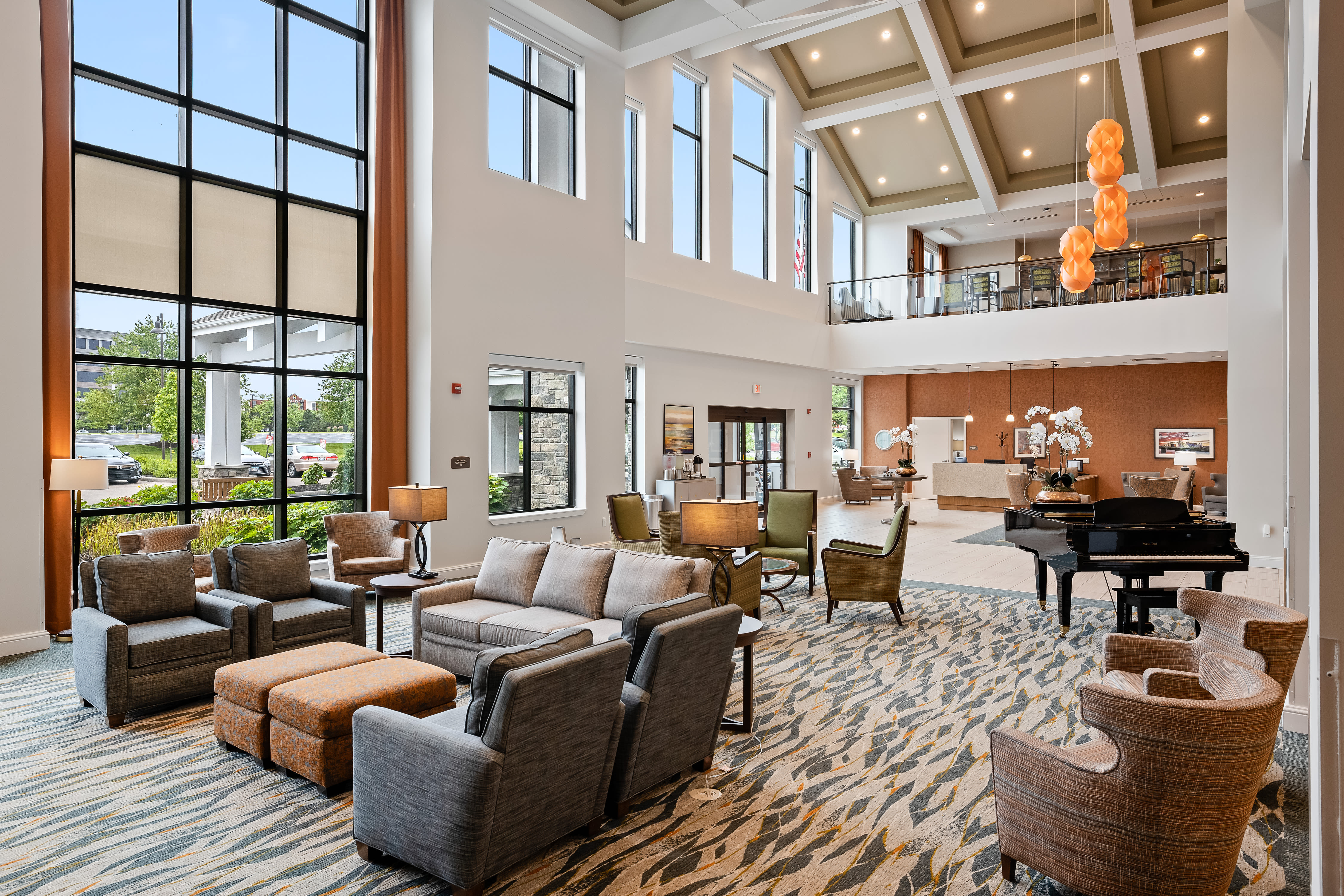 Lounge area at Anthology of Mason in Mason, Ohio