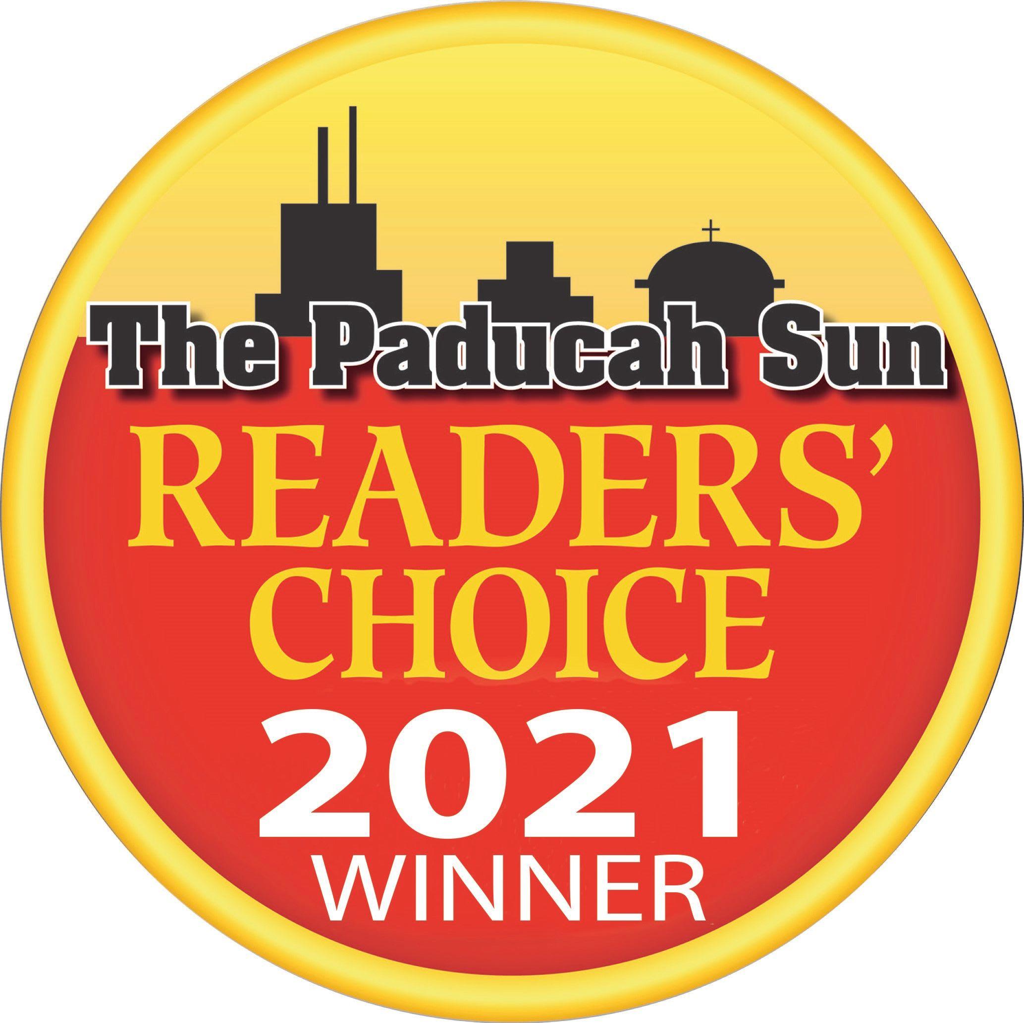 Reader's Choice Winner 2021